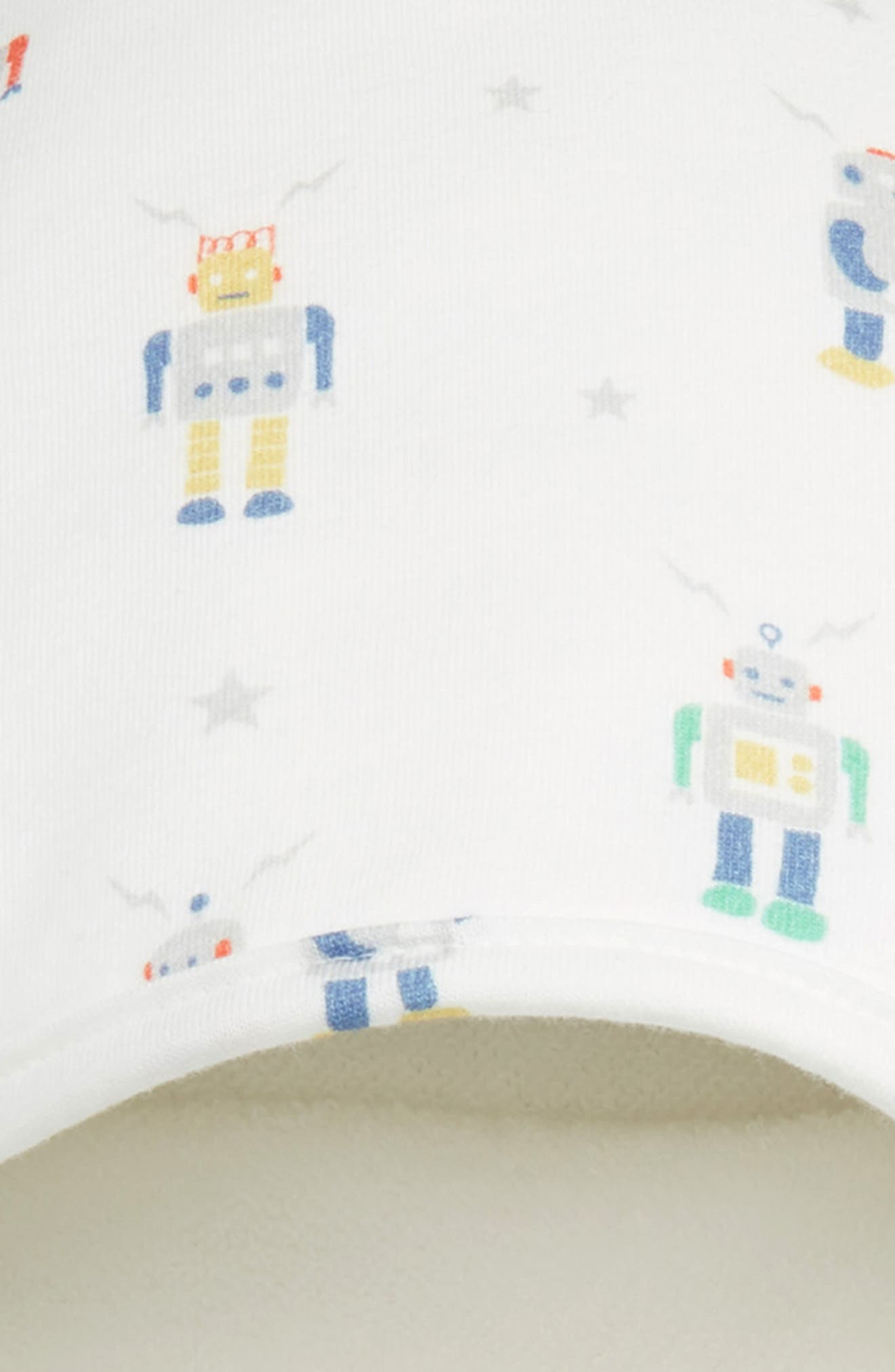 Supersoft Hooded Towel,                             Alternate thumbnail 2, color,                             MULTI ROBOTS