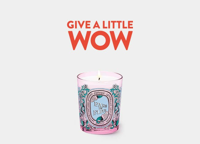 Give a Little Wow.