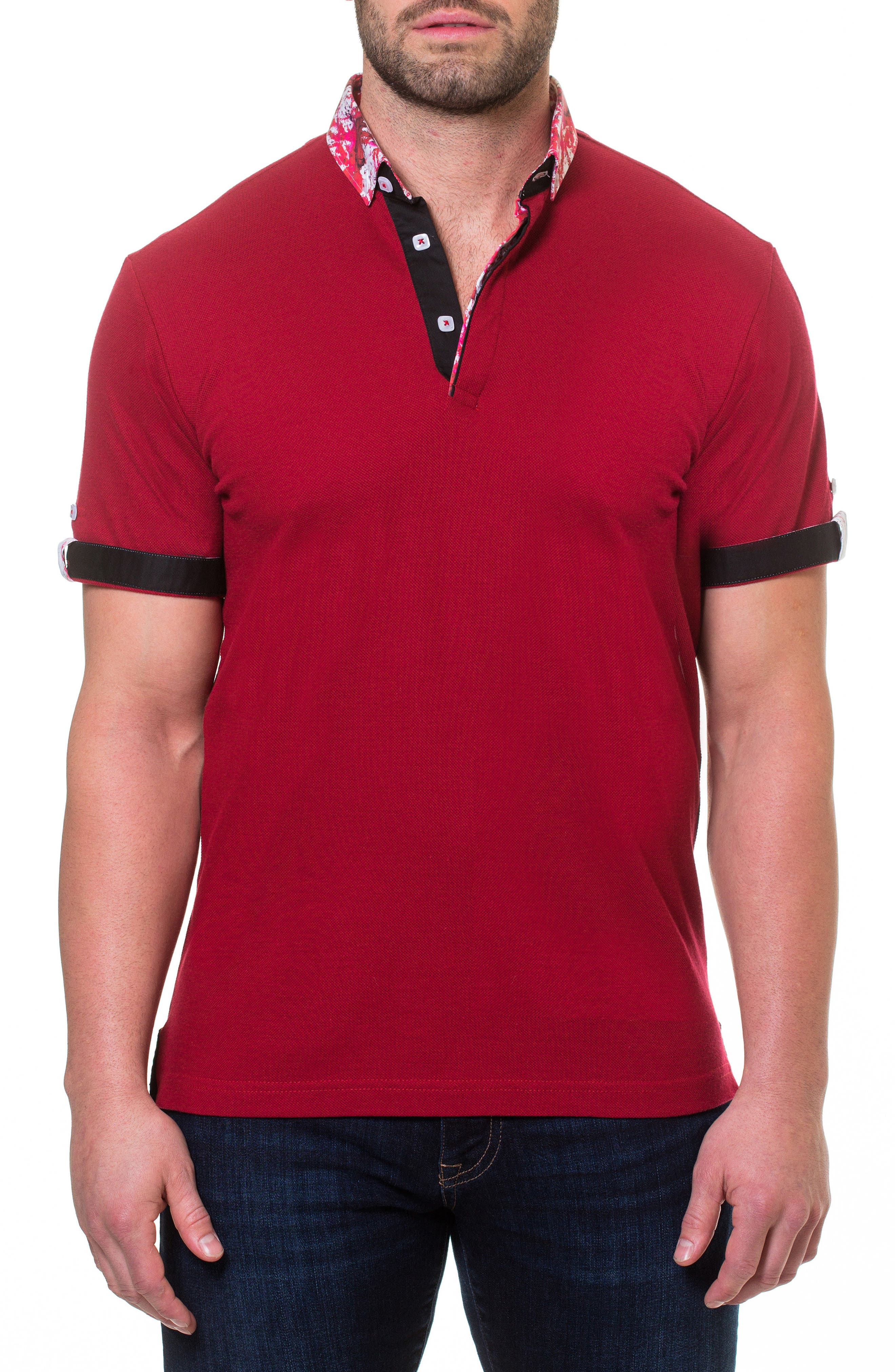 Polo,                         Main,                         color, RED
