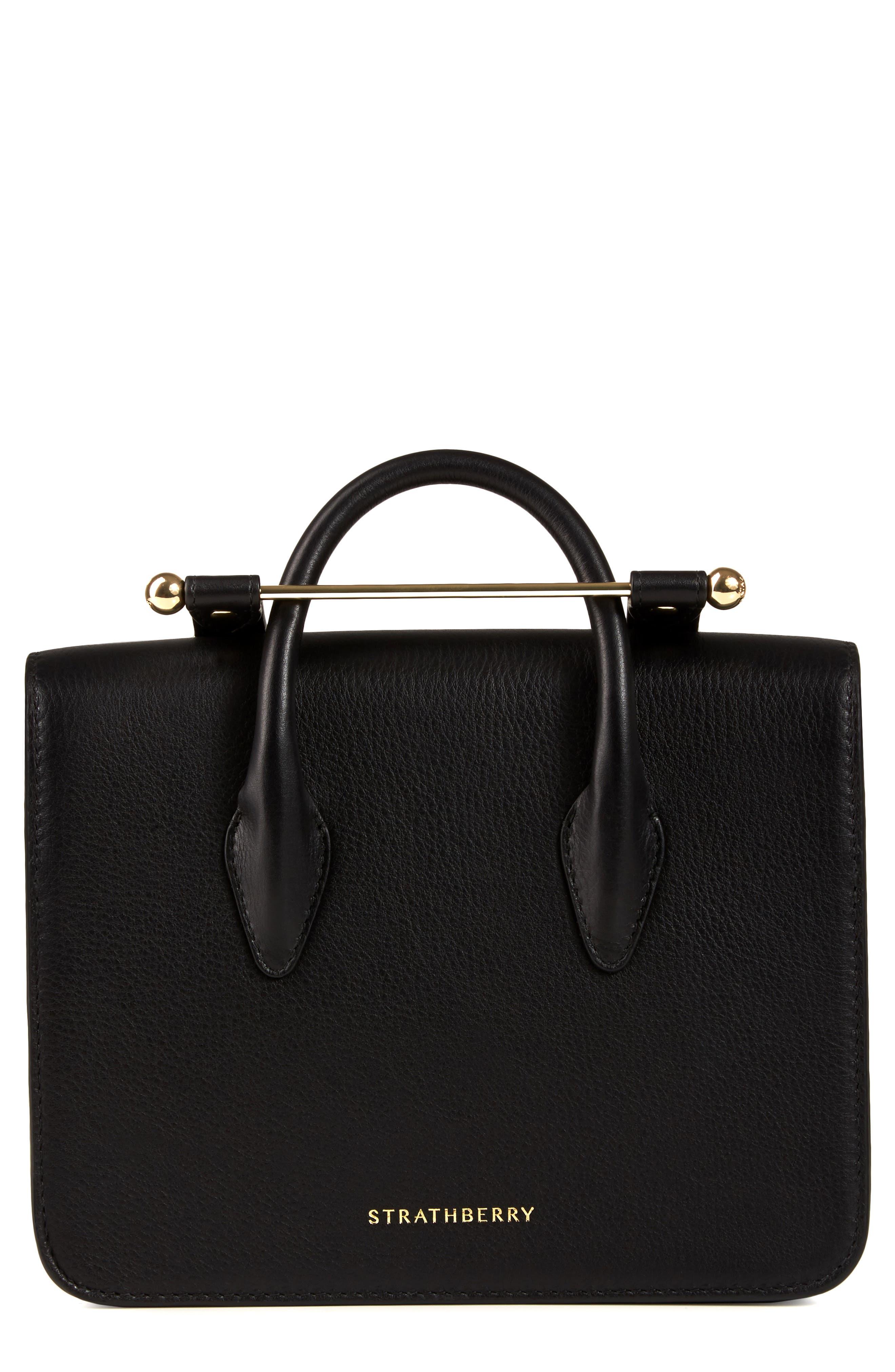 MC Mini Leather Crossbody Bag,                             Alternate thumbnail 3, color,