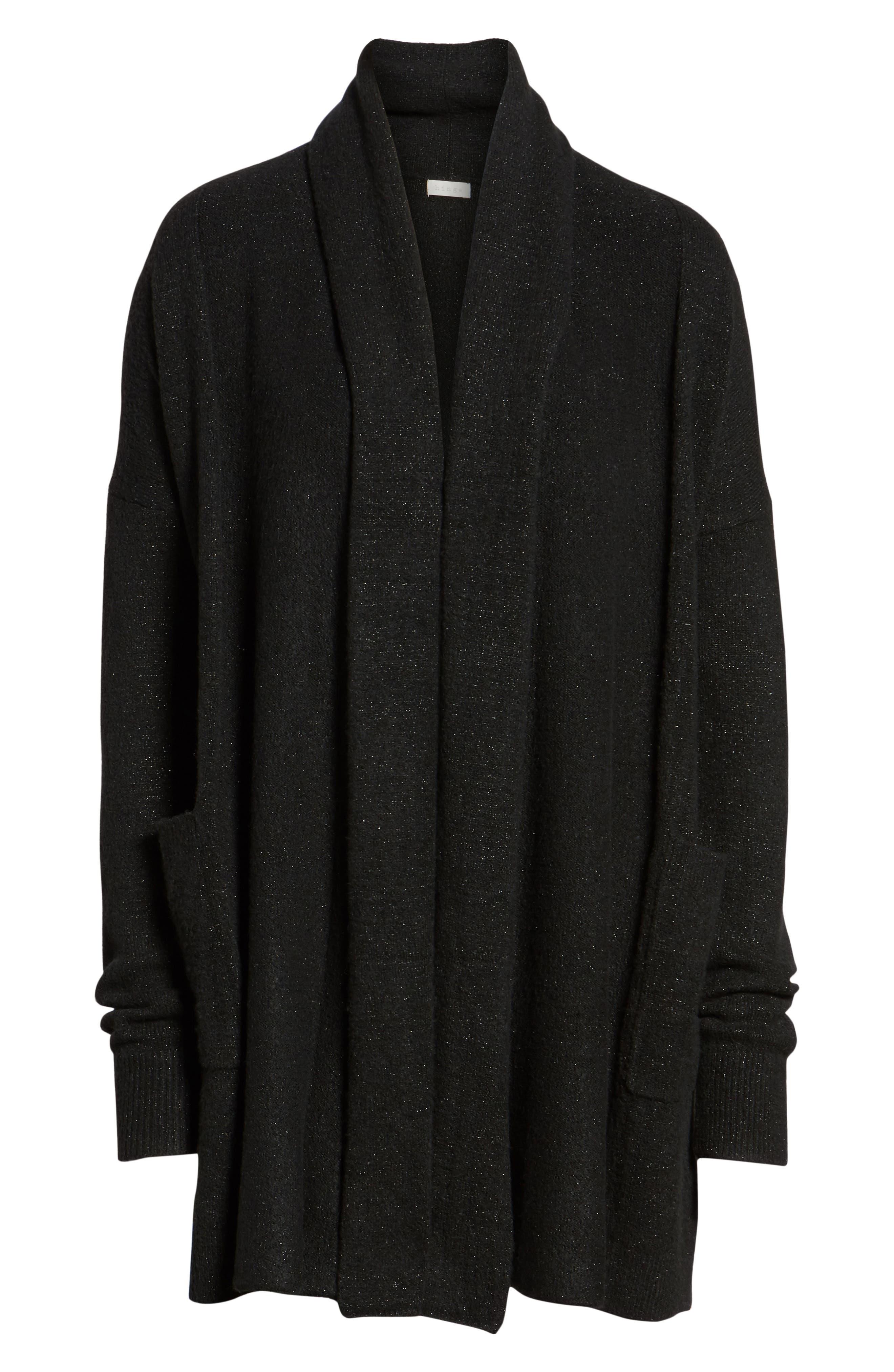 Cardigan Sweater,                             Alternate thumbnail 6, color,                             001