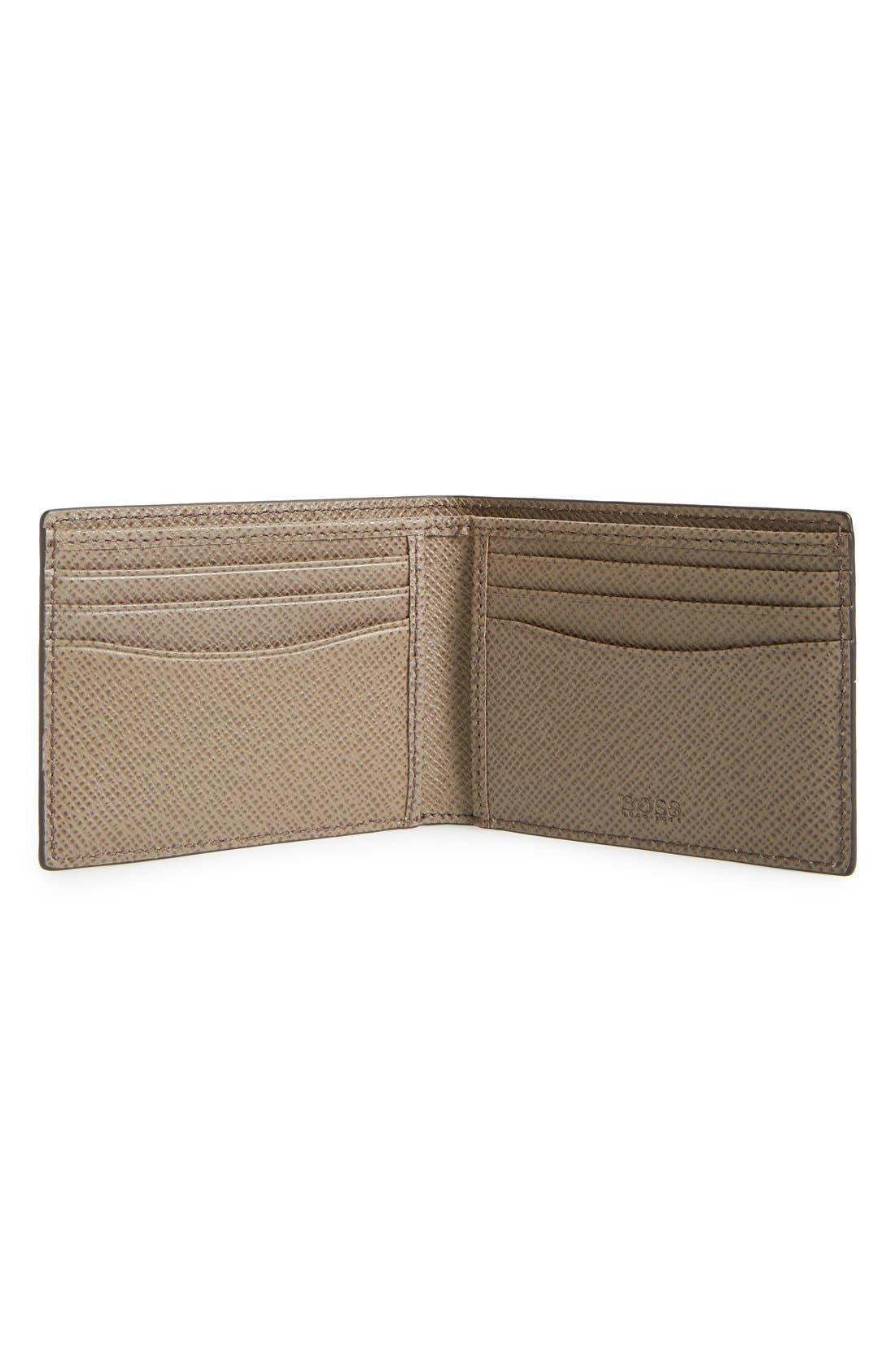 'Signature' Bifold Wallet,                             Alternate thumbnail 6, color,