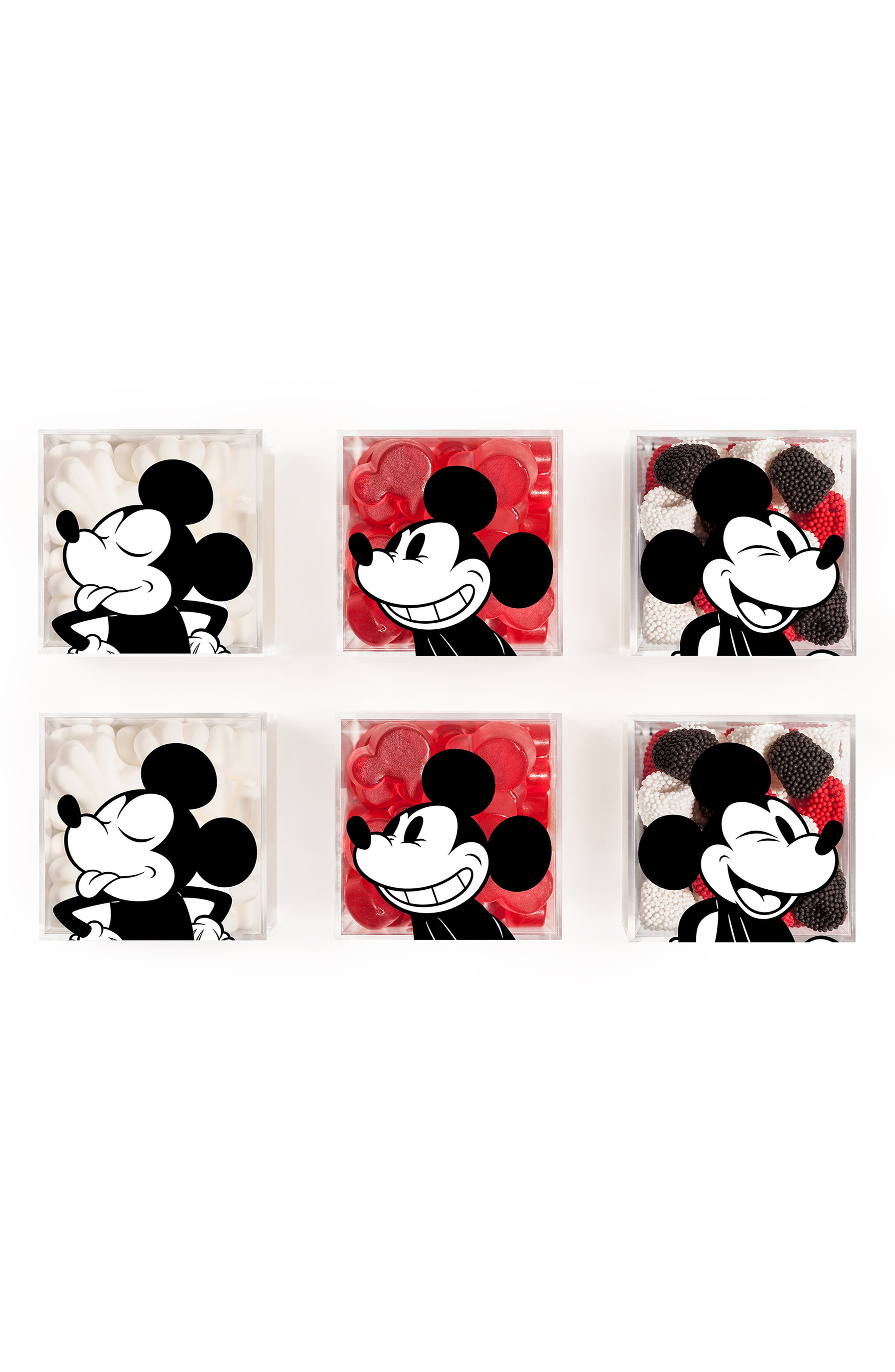 Mickey 6-Piece Candy Cubes,                             Main thumbnail 1, color,                             MULTI