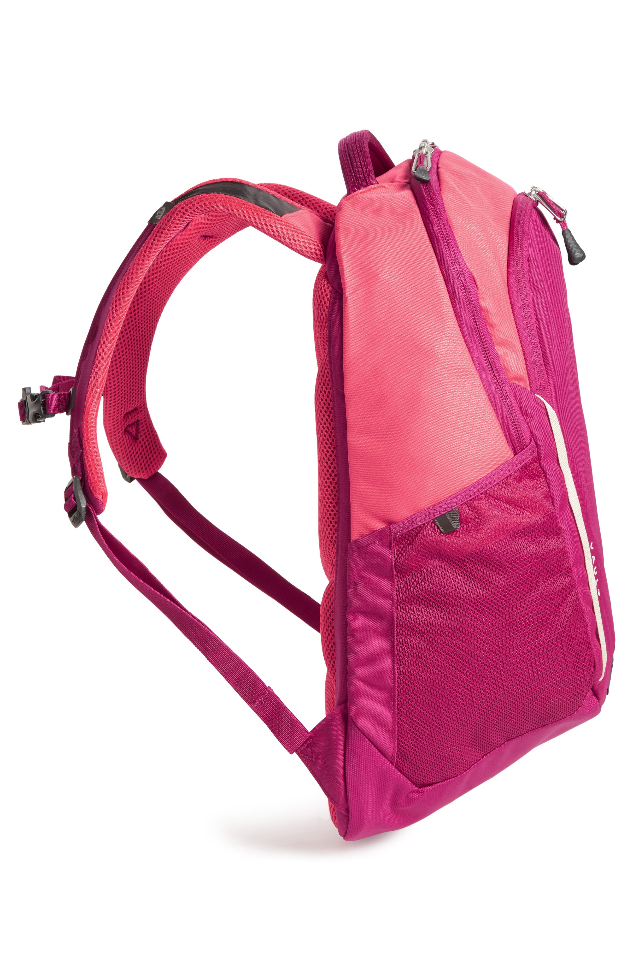 Vault Backpack,                             Alternate thumbnail 4, color,                             ATOMIC PINK/ DRAMATIC PLUM