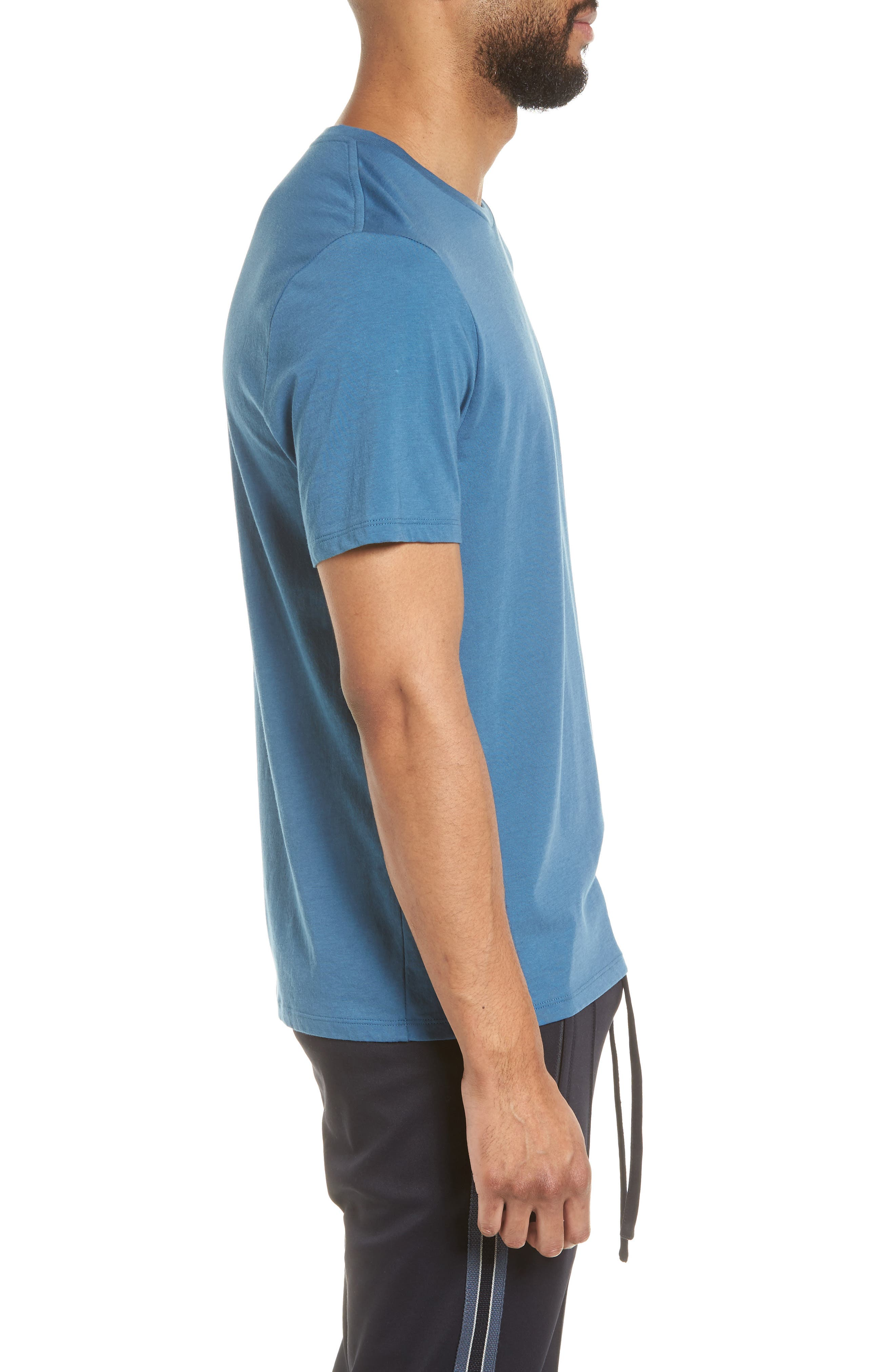 Slim Fit T-Shirt,                             Alternate thumbnail 3, color,                             SANTORINI