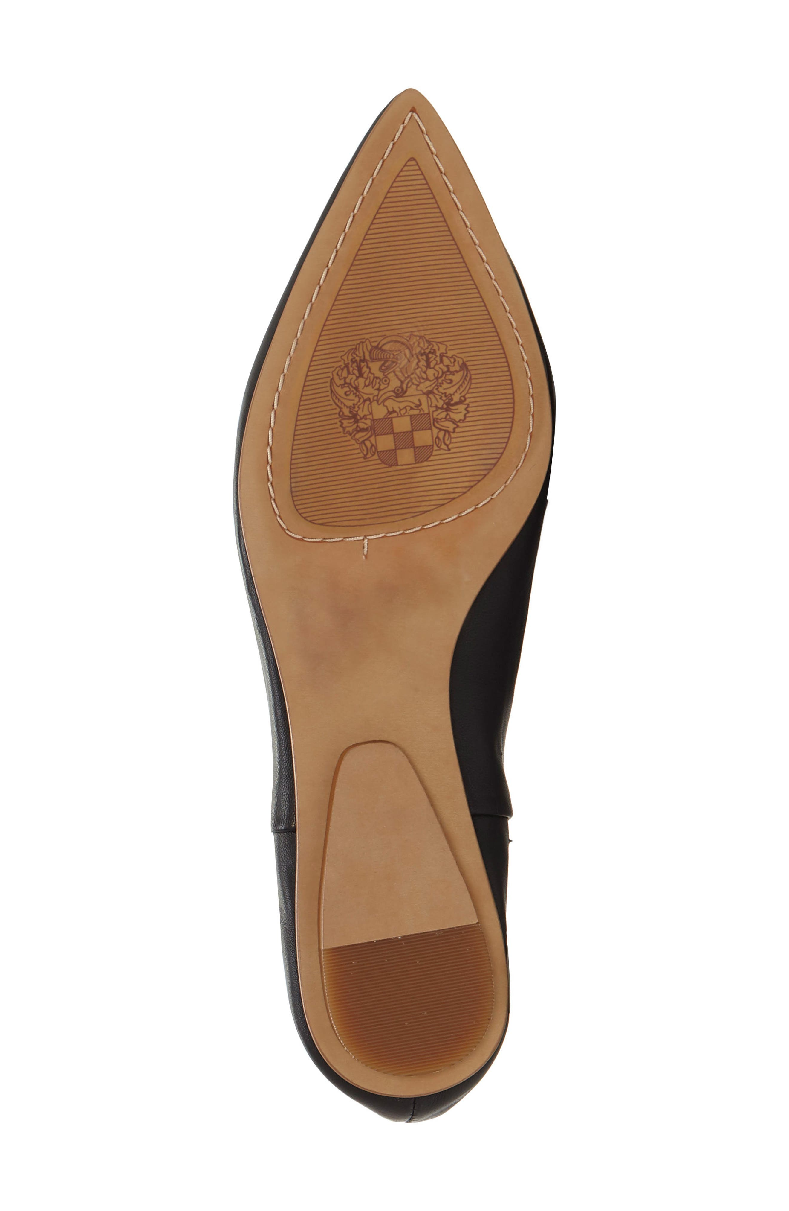 Stanta Pointy Toe Flat,                             Alternate thumbnail 6, color,                             001