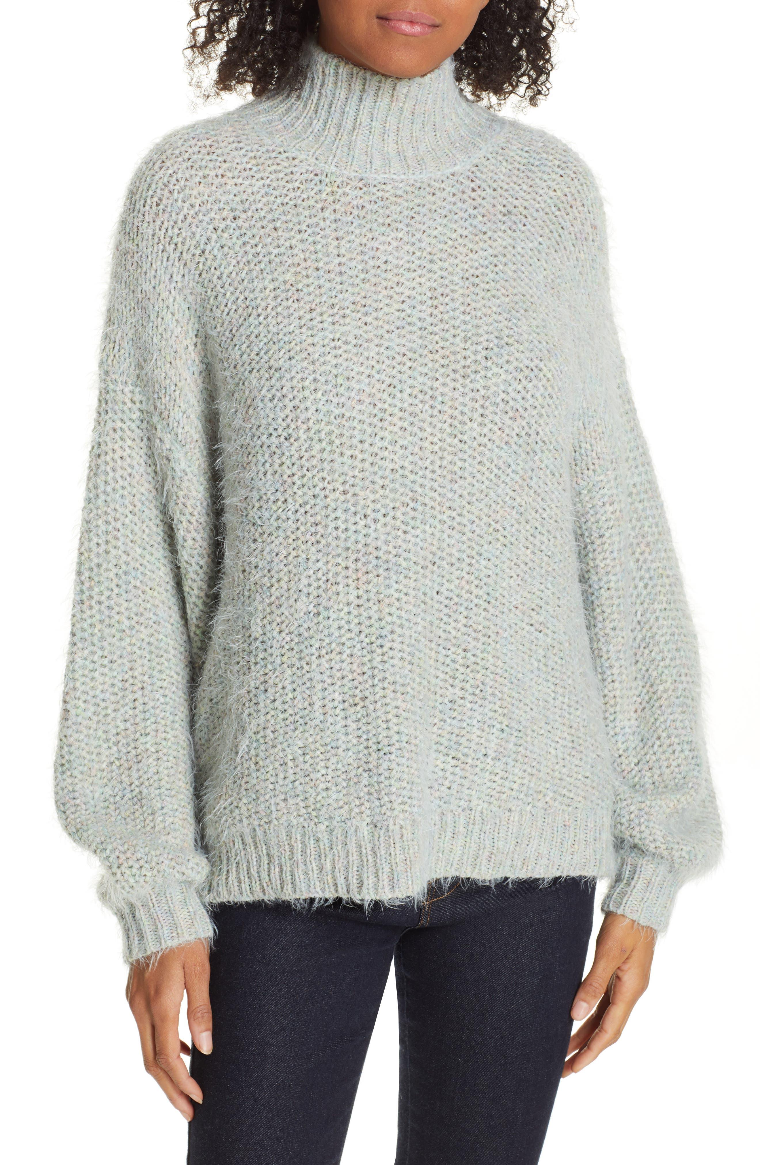 Markita Sweater,                             Main thumbnail 1, color,                             HEATHER CELADON