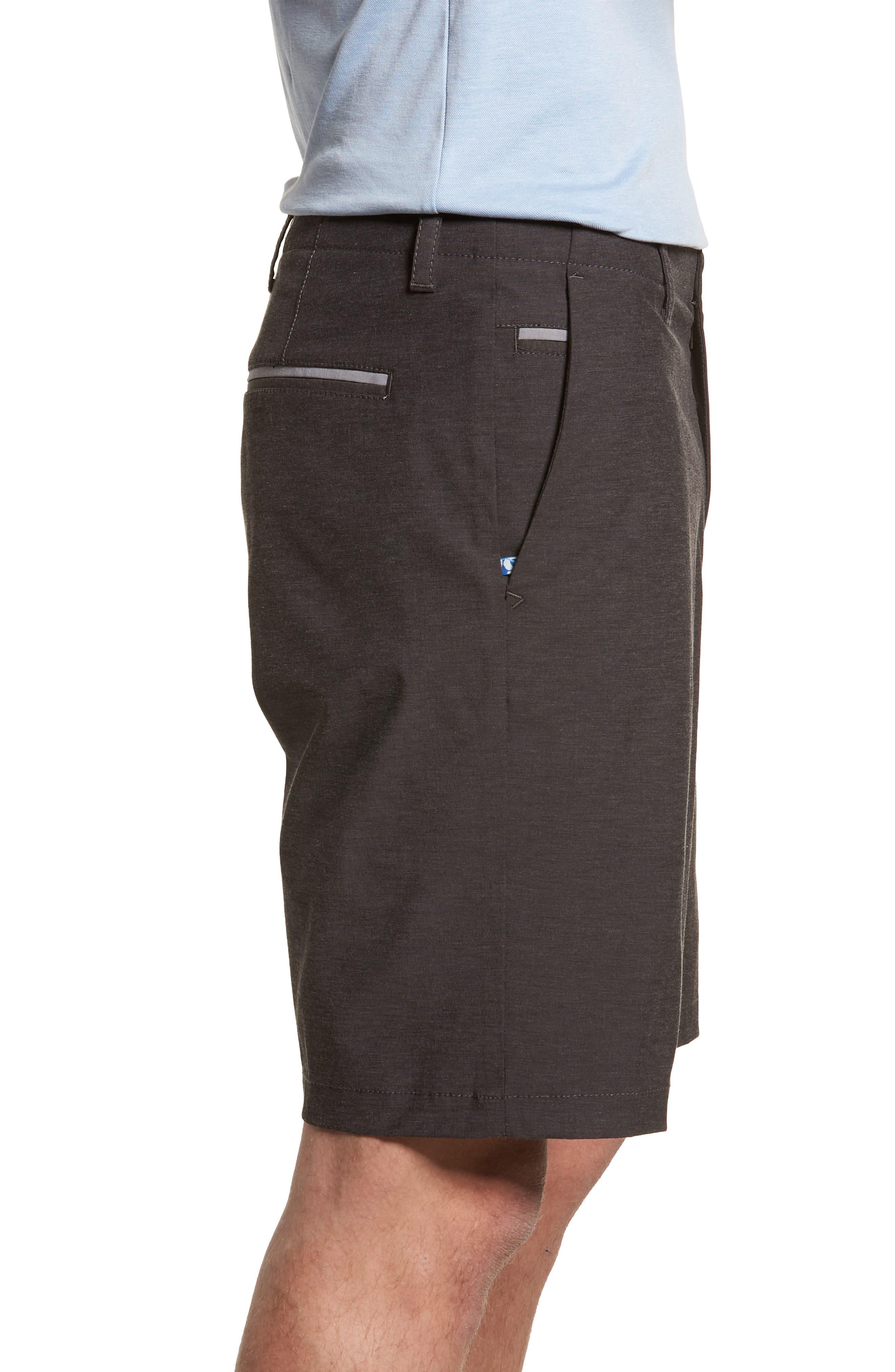 Chip & Run Shorts,                             Alternate thumbnail 3, color,                             BLACK