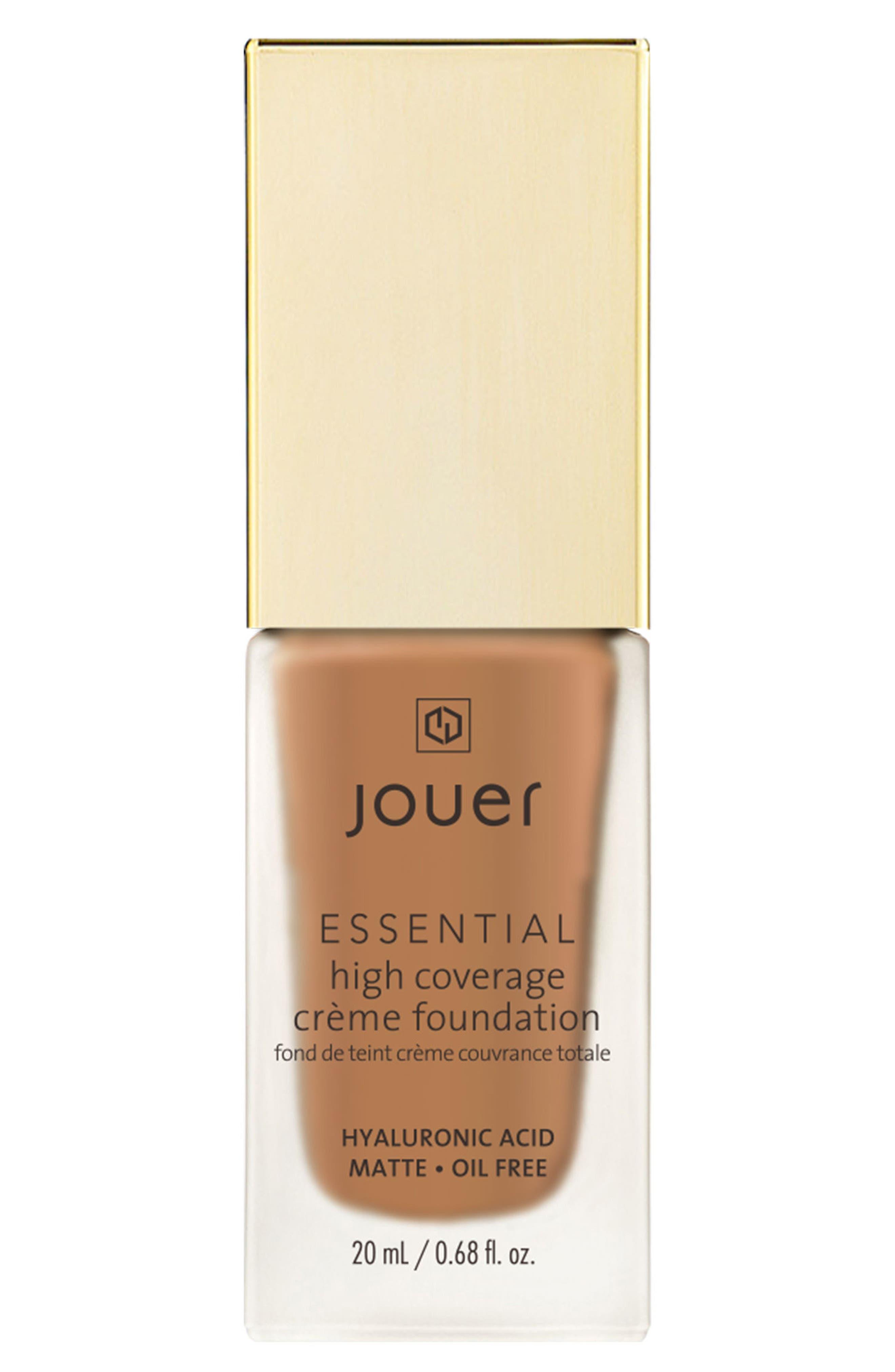 Essential High Coverage Crème Foundation,                         Main,                         color, WALNUT
