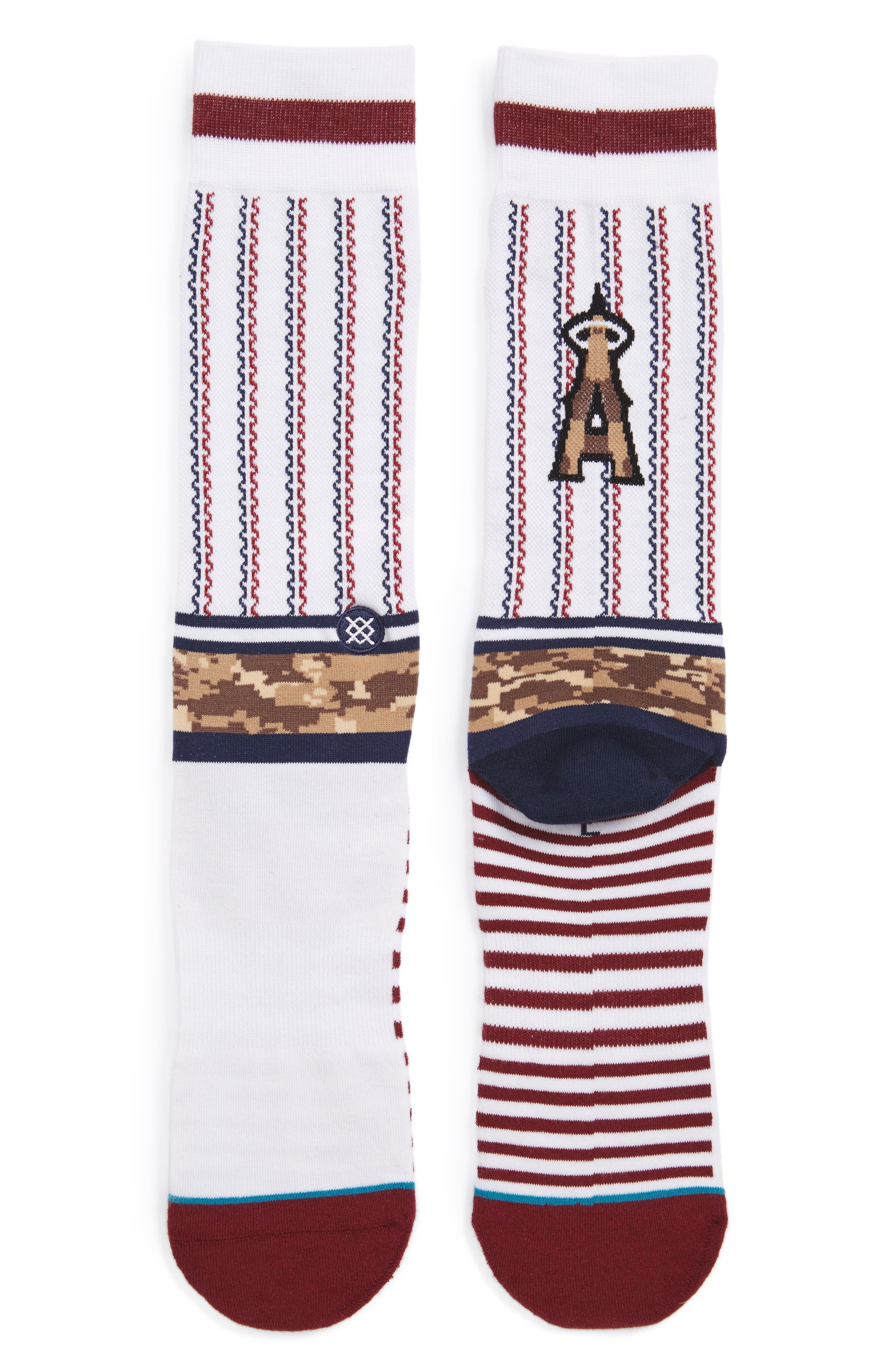 Sentry Angels Socks,                         Main,                         color, 100