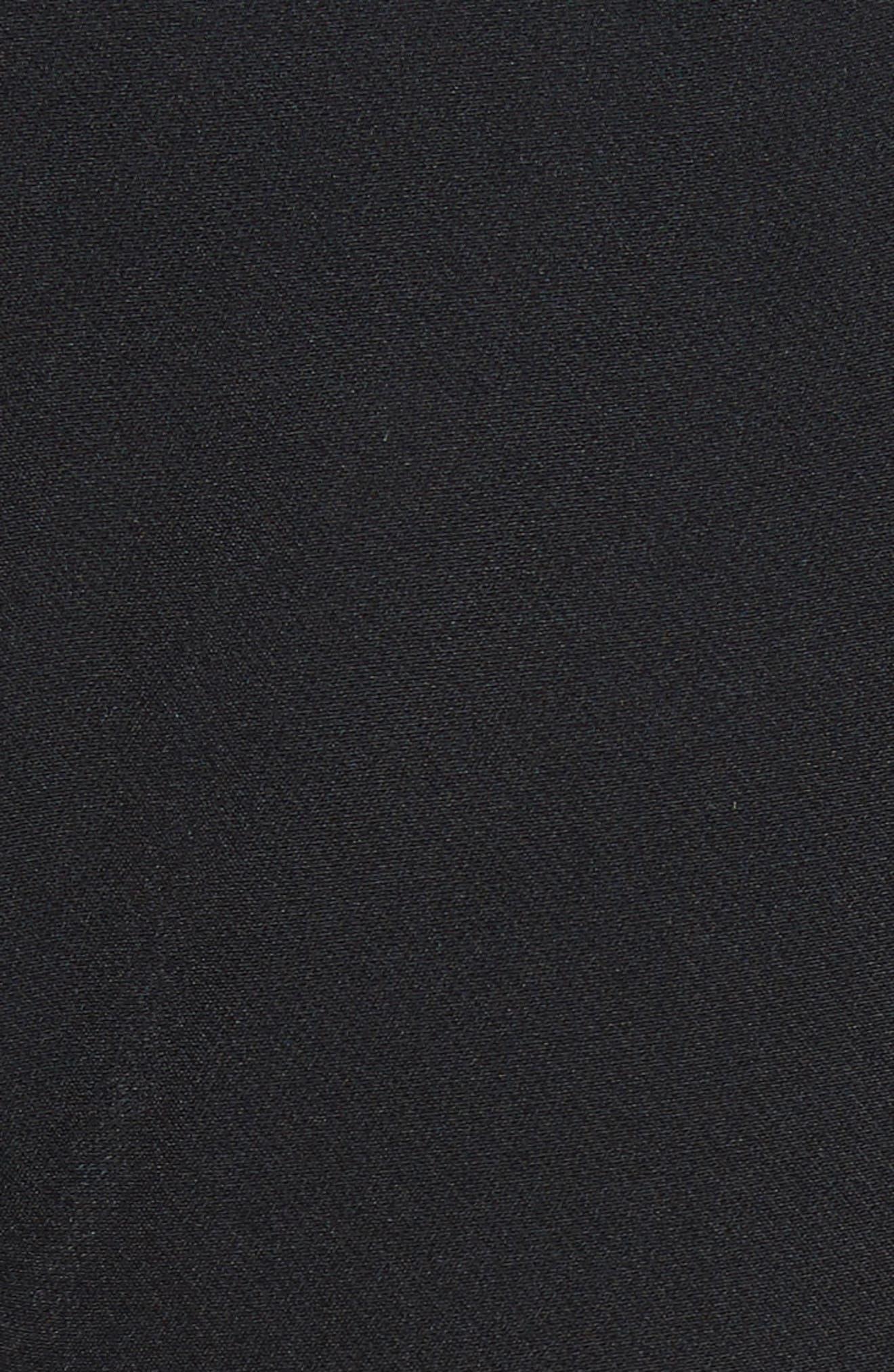 'Hayden' Wide Leg Trousers,                             Alternate thumbnail 5, color,                             BLACK