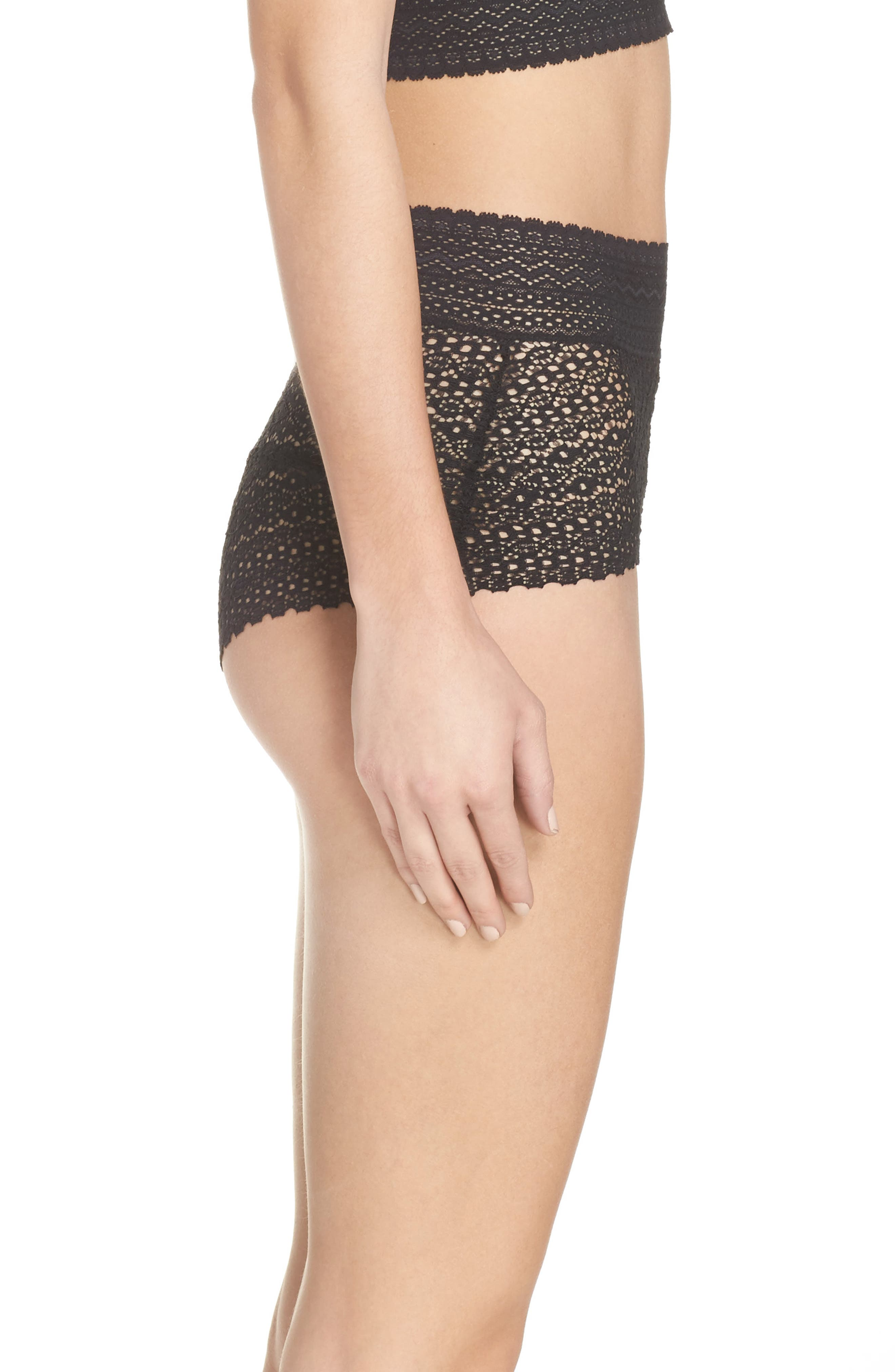 Rumi High Waist Briefs,                             Alternate thumbnail 3, color,                             001