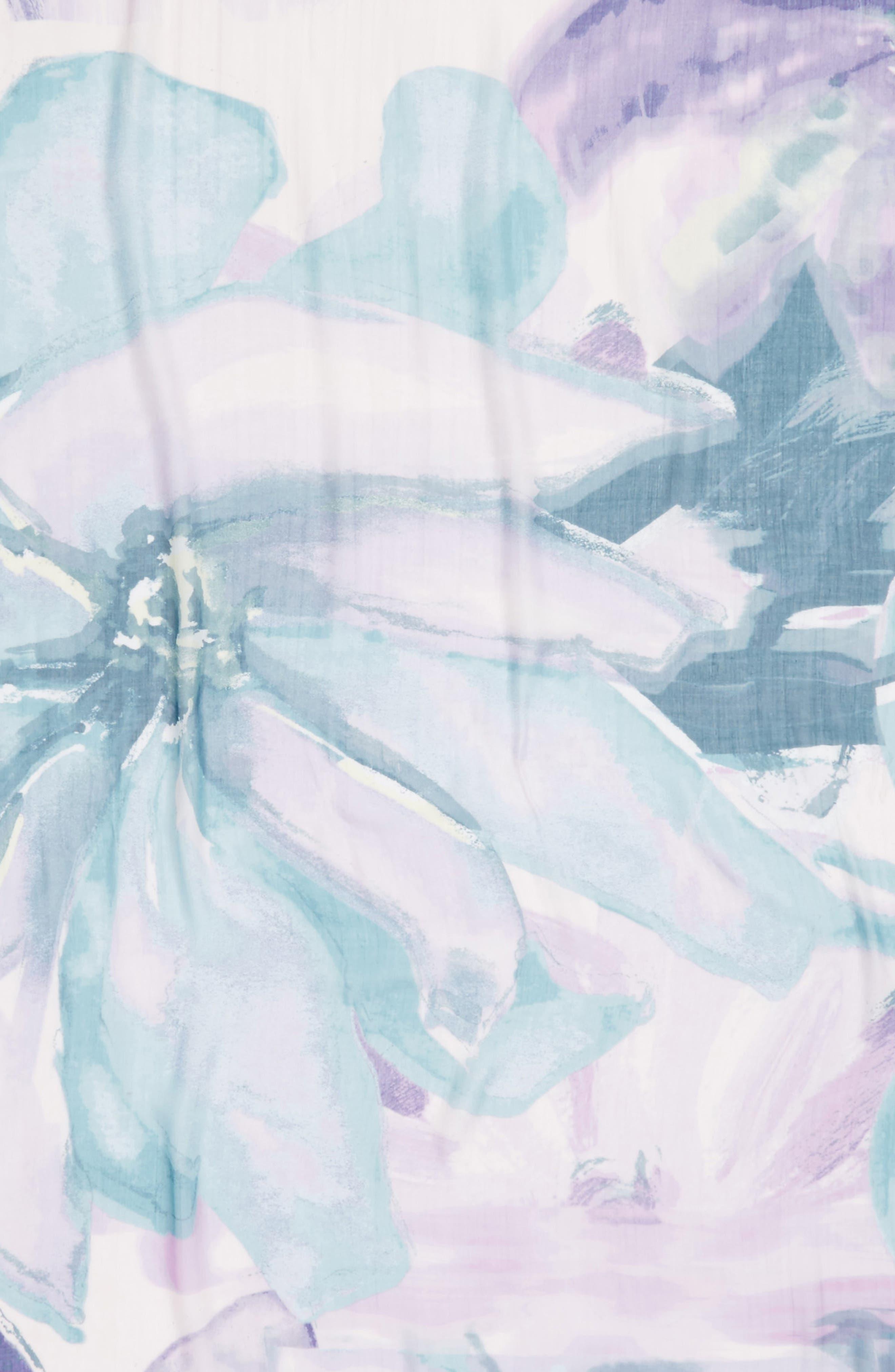Print Modal & Silk Scarf,                             Alternate thumbnail 62, color,