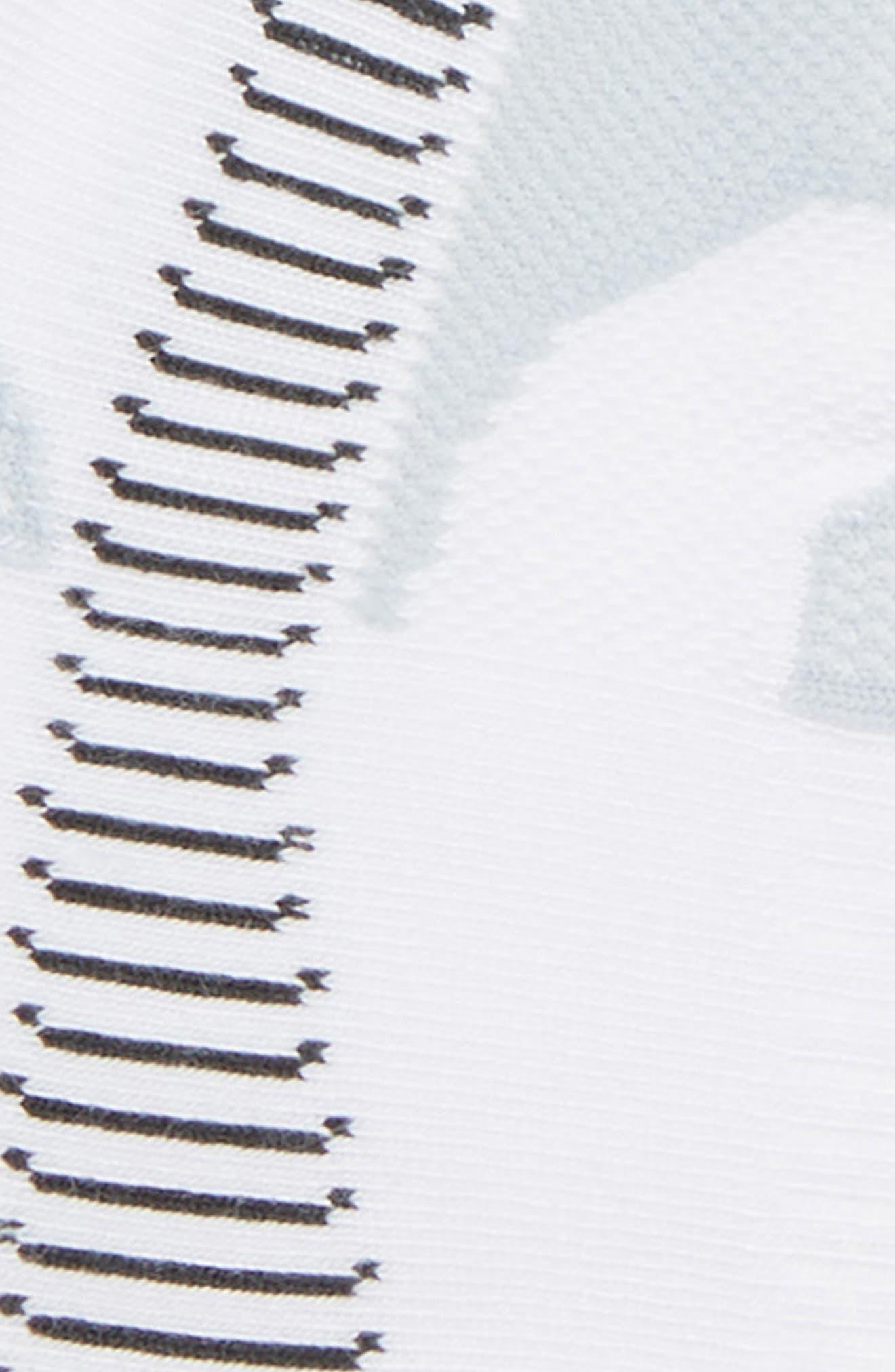 Hidden Contour Socks,                             Alternate thumbnail 2, color,                             WHITE