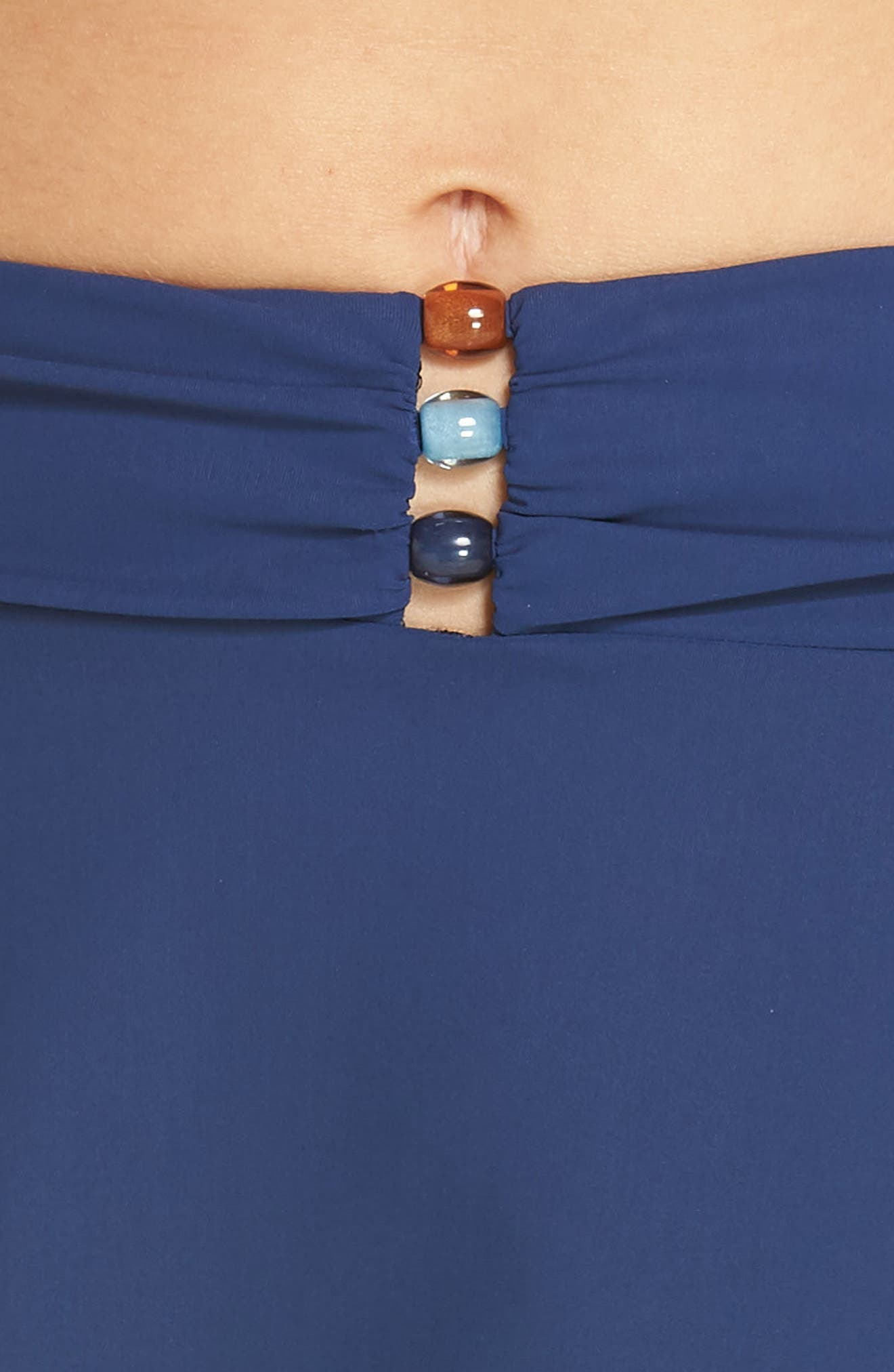 Beaded Cover-Up Skirt,                             Alternate thumbnail 4, color,                             PETROL