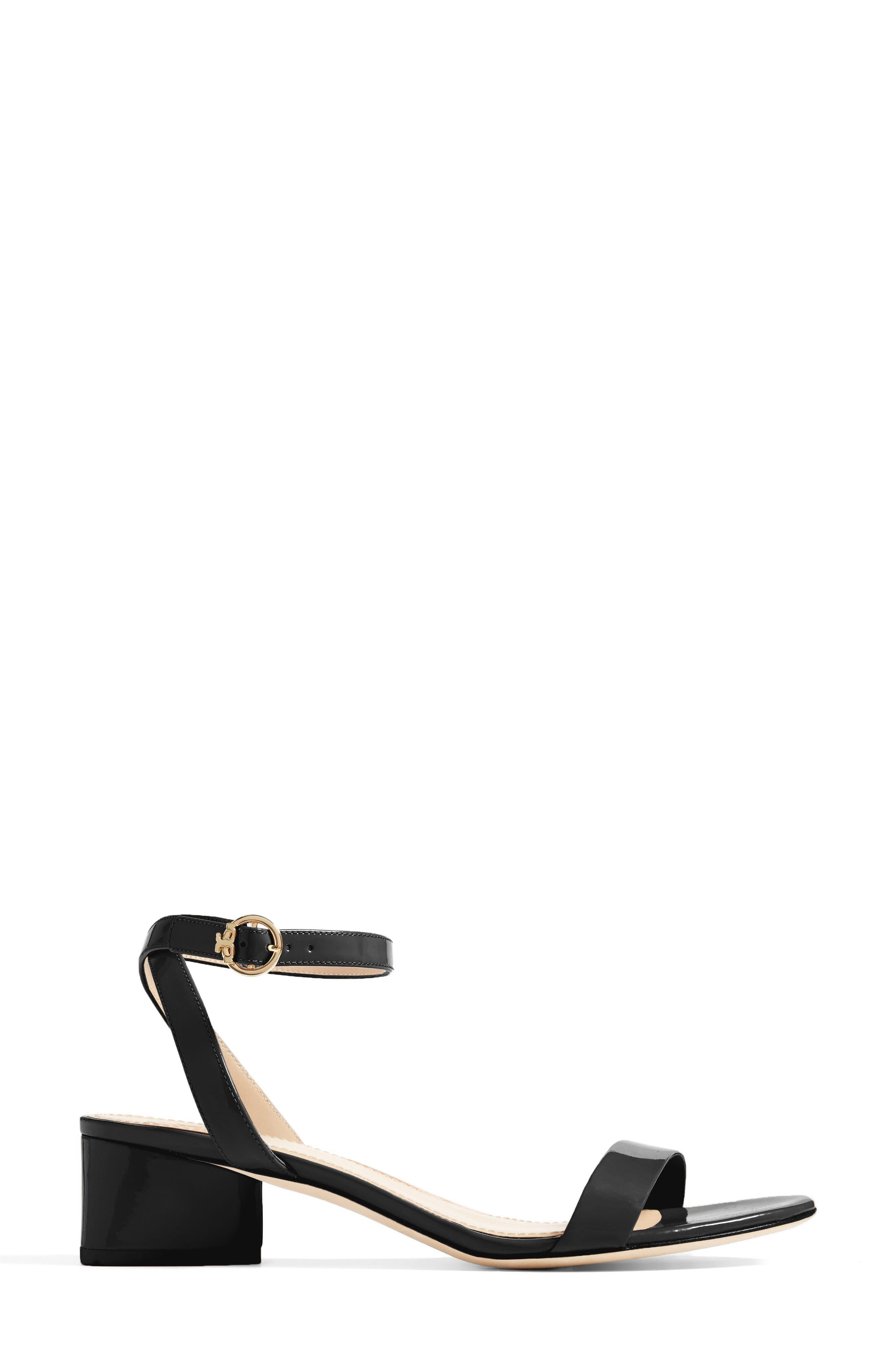 Elizabeth Block Heel Sandal,                             Alternate thumbnail 7, color,