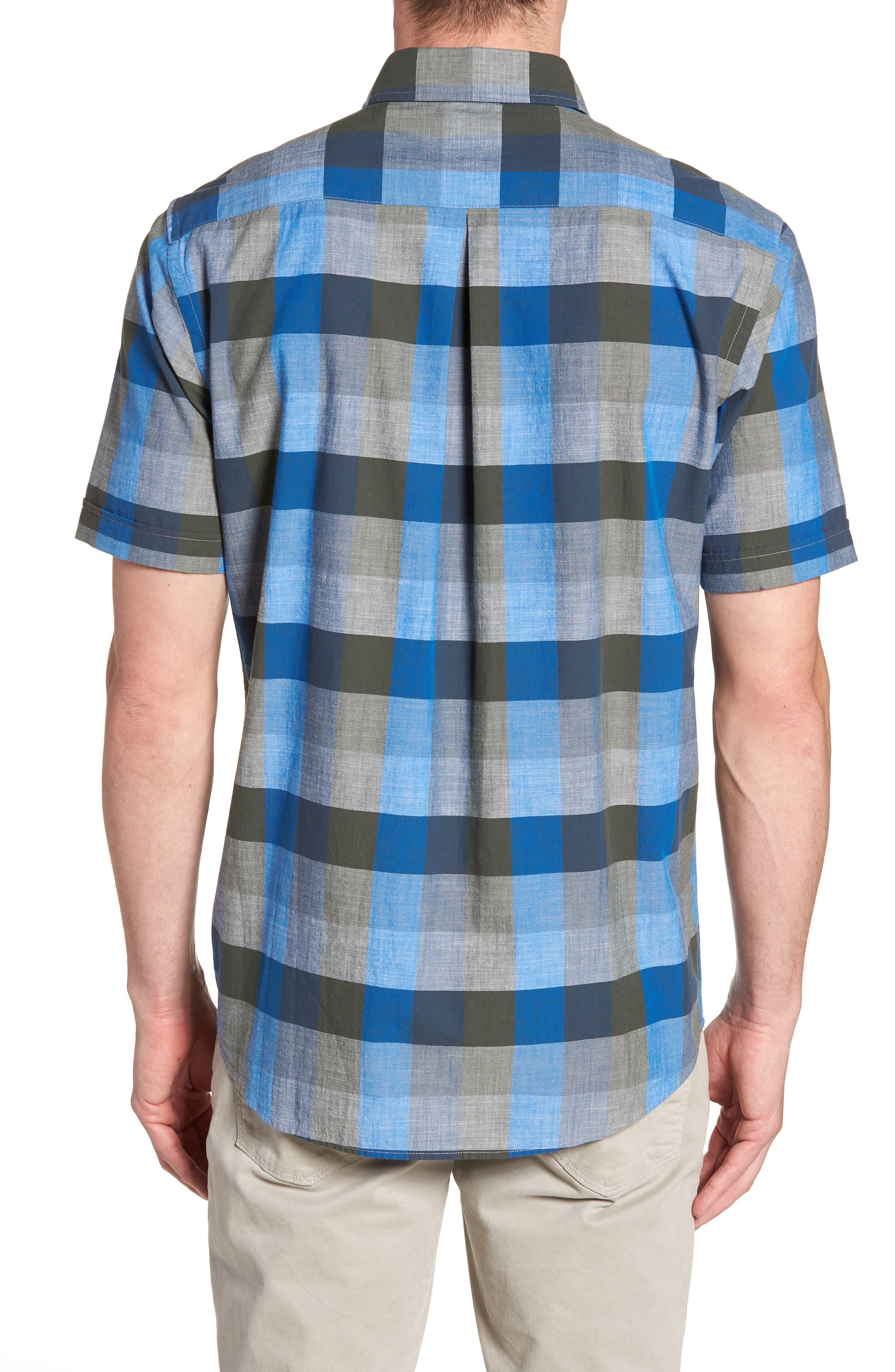Knighton Regular Fit Sport Shirt,                             Alternate thumbnail 2, color,                             RIVER