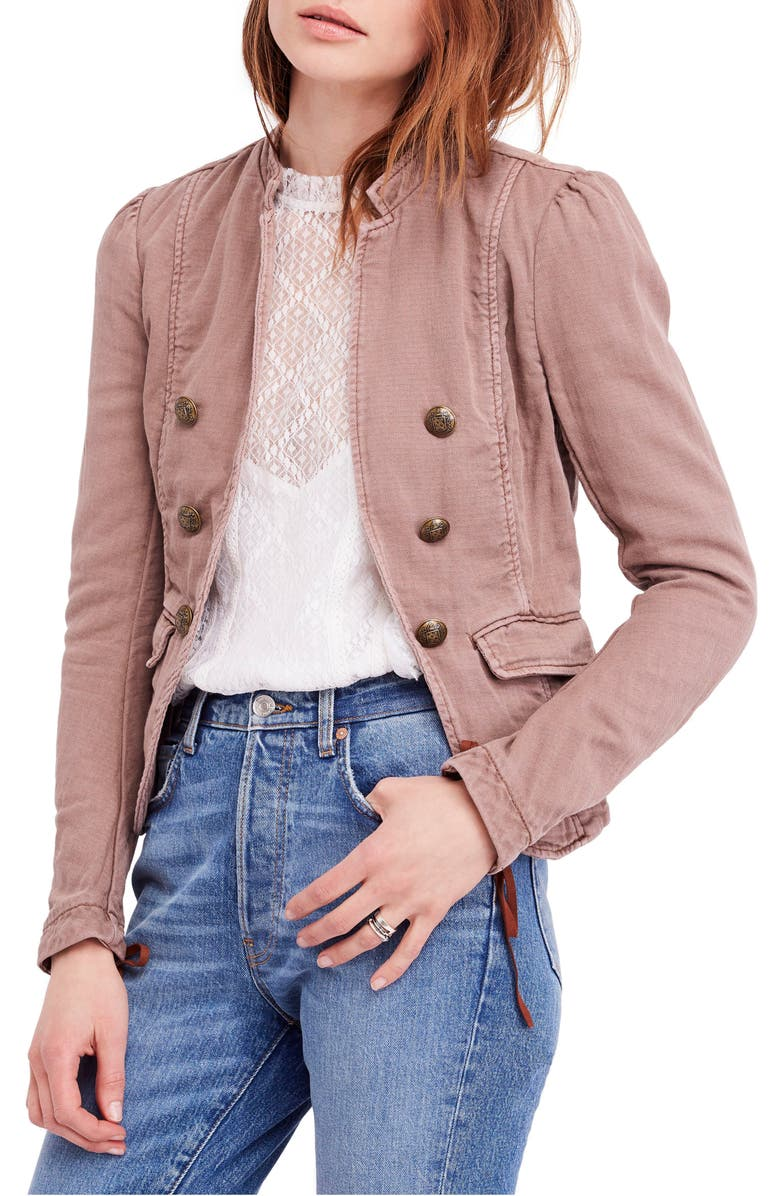 Free People Jagger Open Front Blazer | Nordstrom