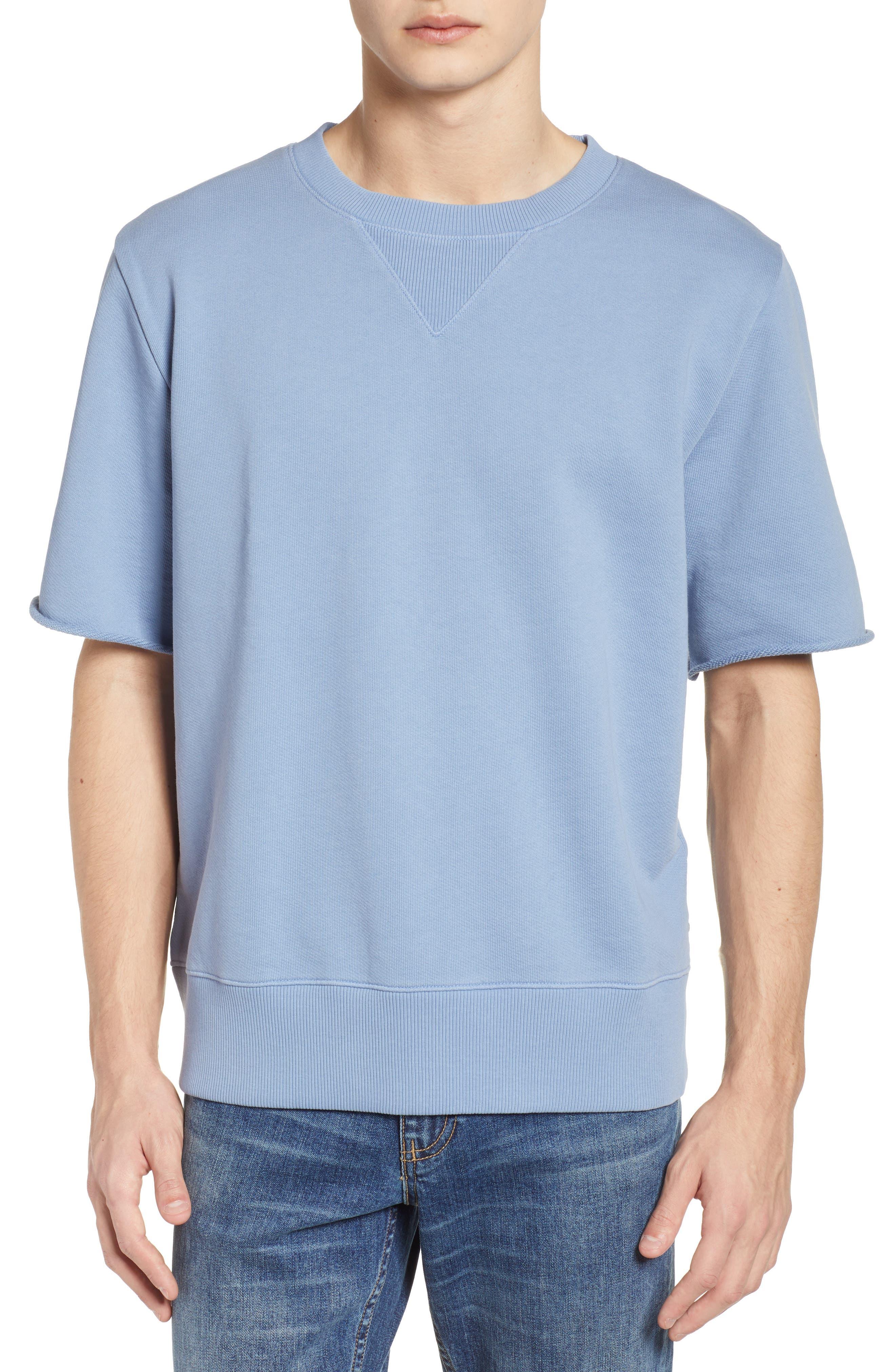 Cotton Terry Sweatshirt,                             Main thumbnail 1, color,