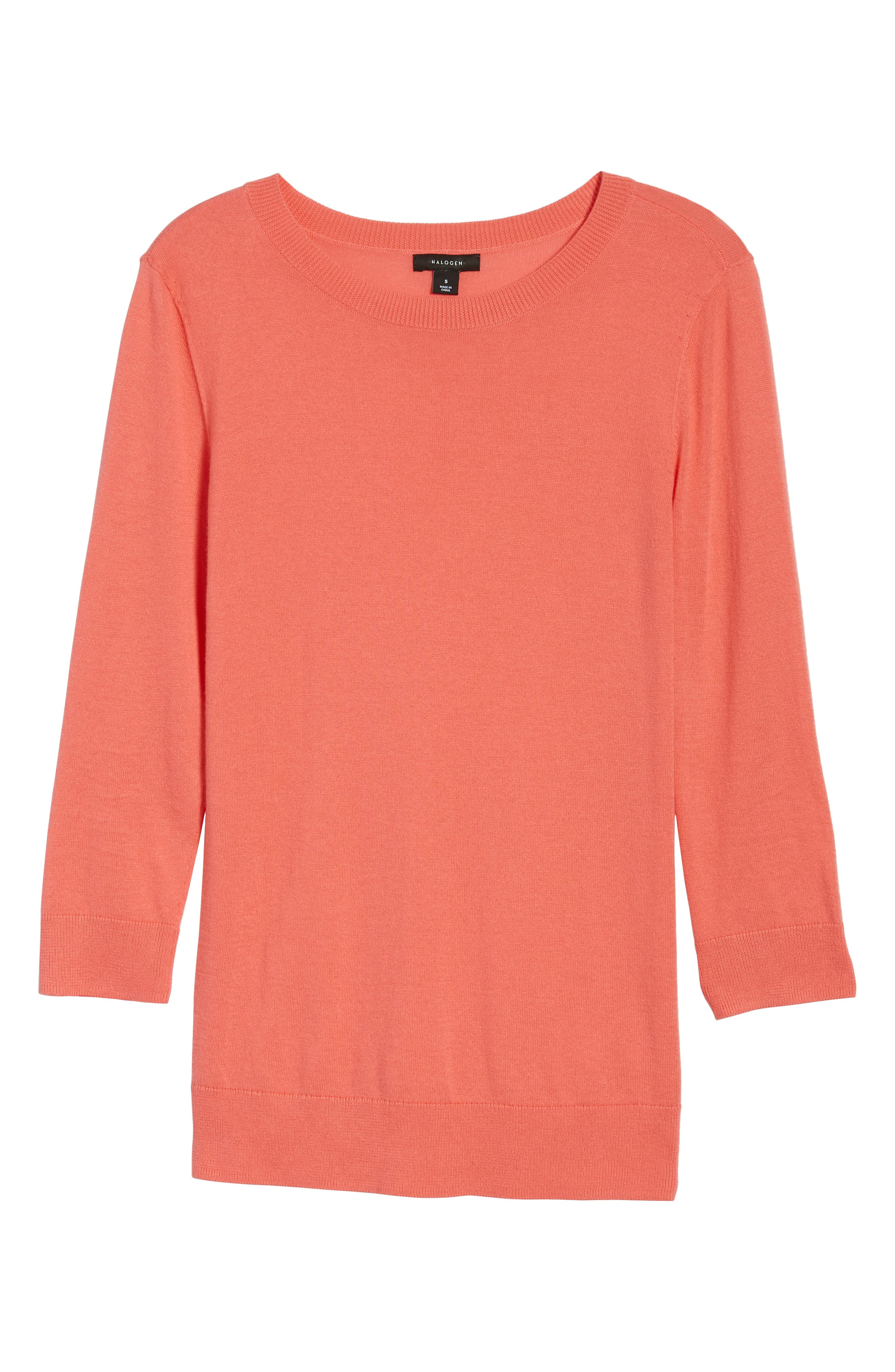 Cotton Blend Pullover,                             Alternate thumbnail 157, color,