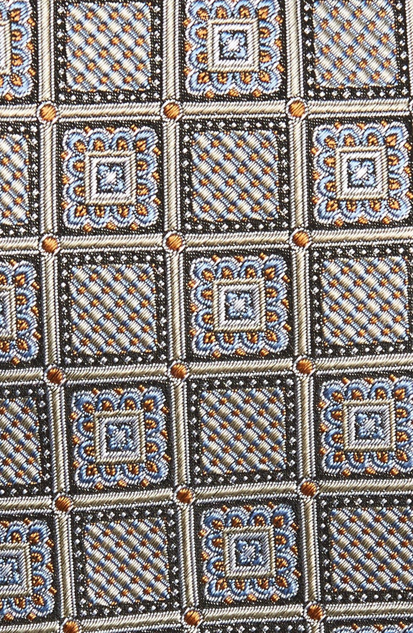 Geometric Silk Tie,                             Alternate thumbnail 2, color,                             250