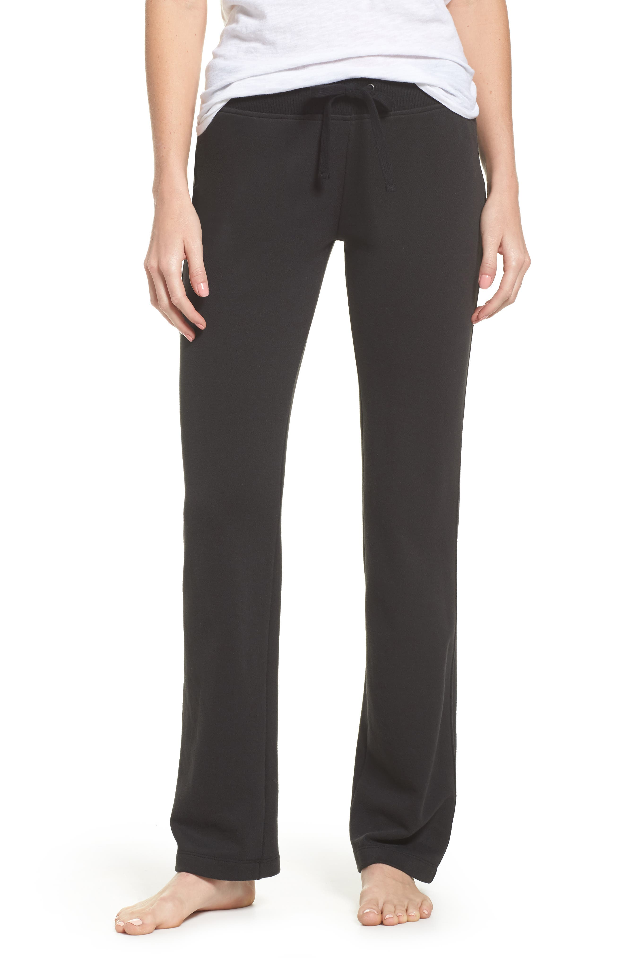 Penny Lounge Pants,                         Main,                         color, BLACK