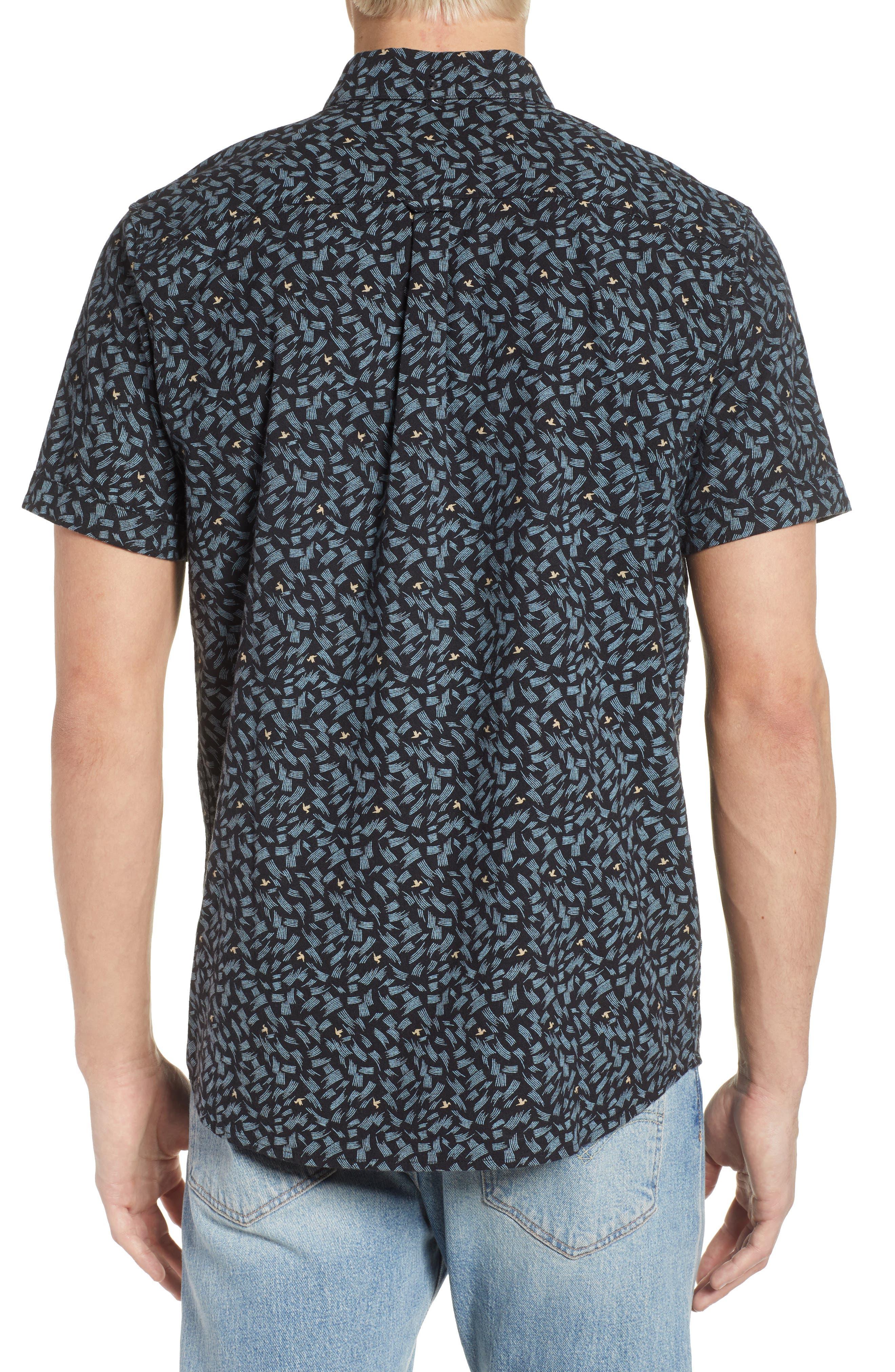 Northern Short Sleeve Shirt,                             Alternate thumbnail 2, color,                             001