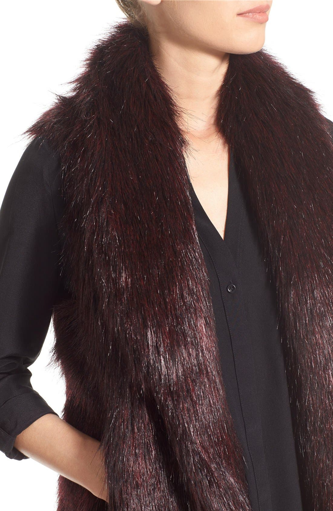 'Emily' Faux Fur Vest,                             Alternate thumbnail 2, color,                             505