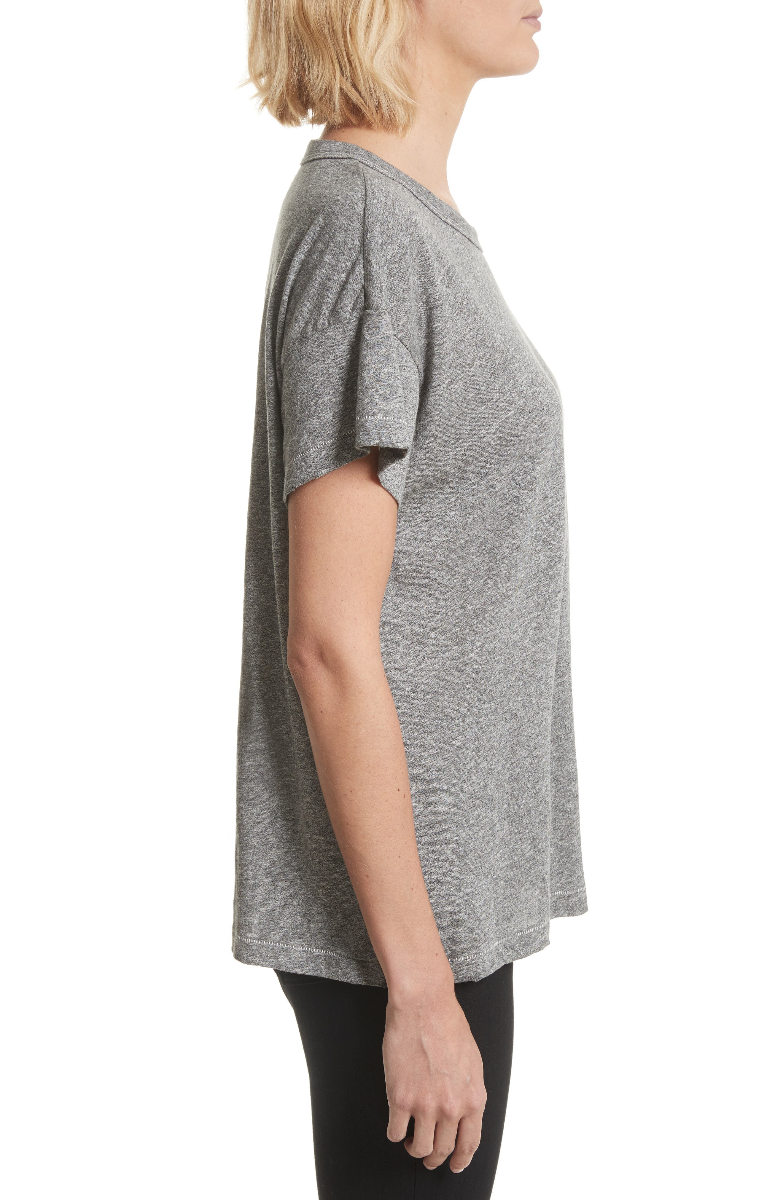 The Boxy Crew Tee,                             Alternate thumbnail 9, color,