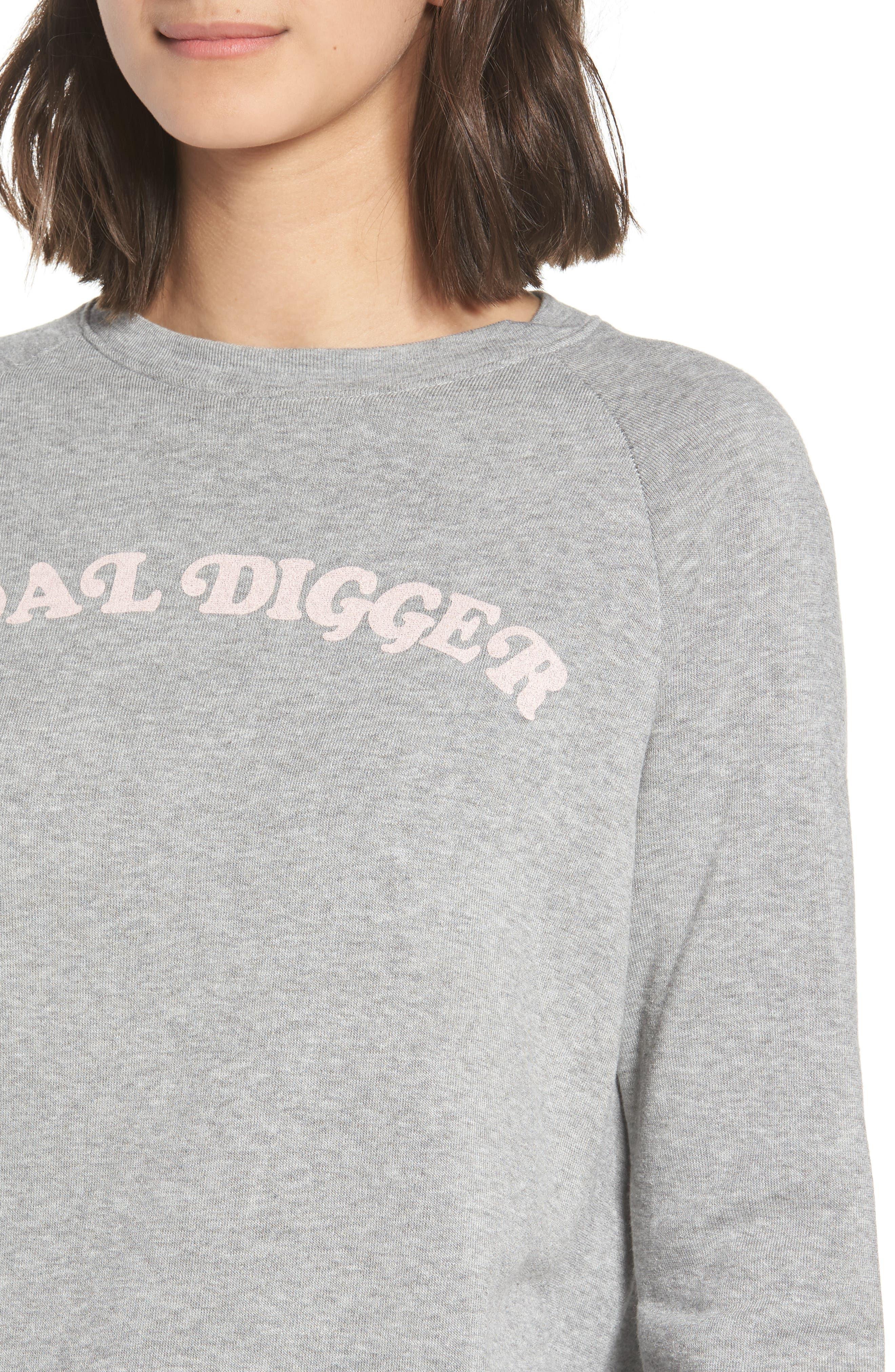 Goal Digger Sweatshirt,                             Alternate thumbnail 4, color,                             020