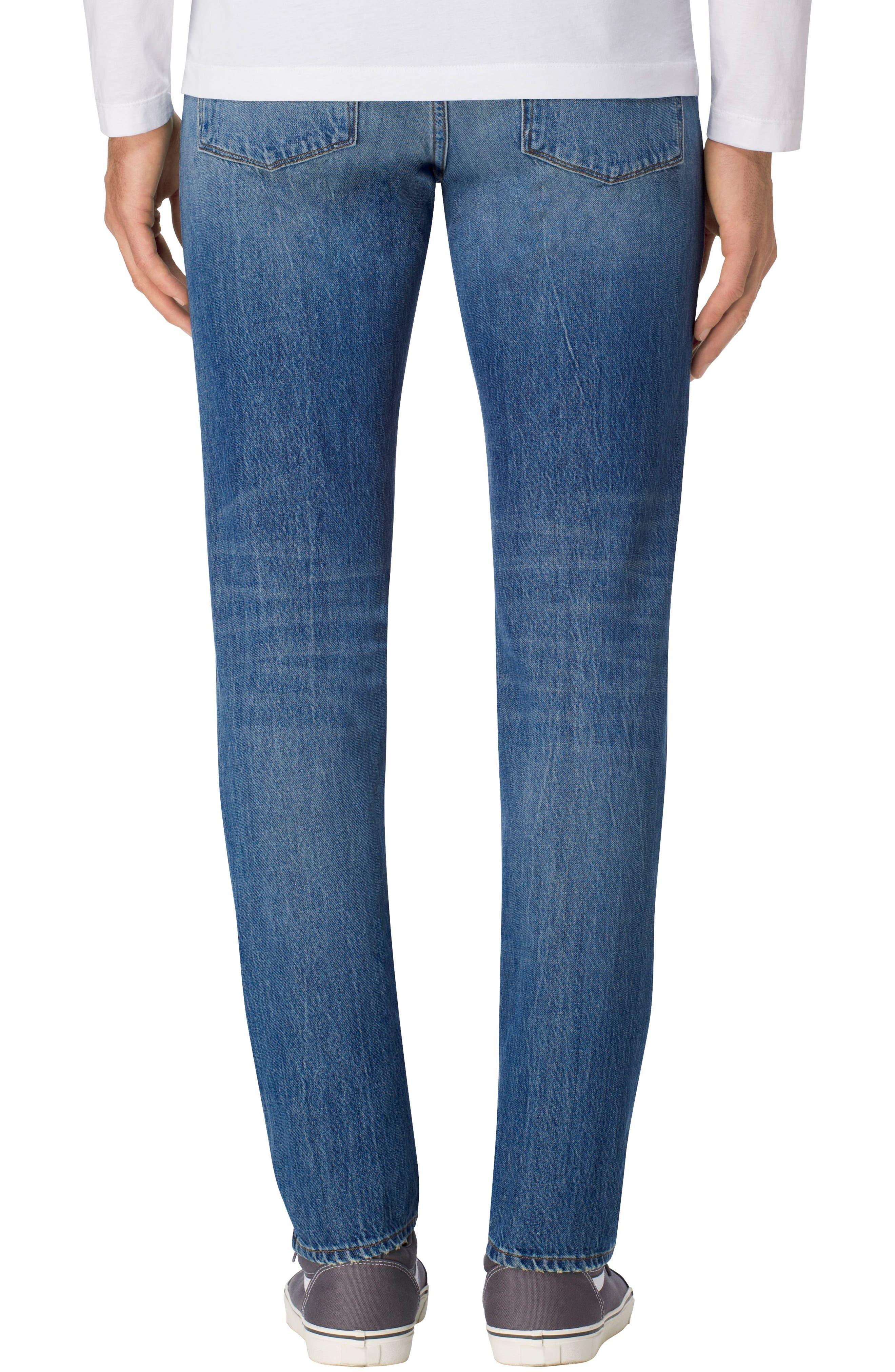 Tyler Slim Fit Jeans,                             Alternate thumbnail 2, color,                             451