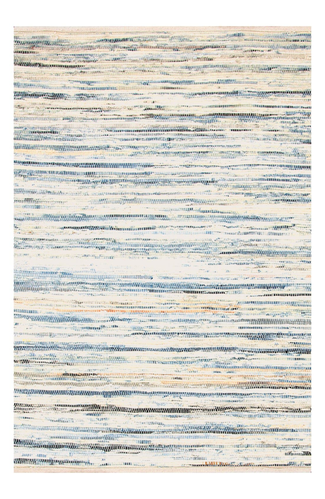 'Rag' Hand Woven Rug,                             Main thumbnail 1, color,                             DENIM