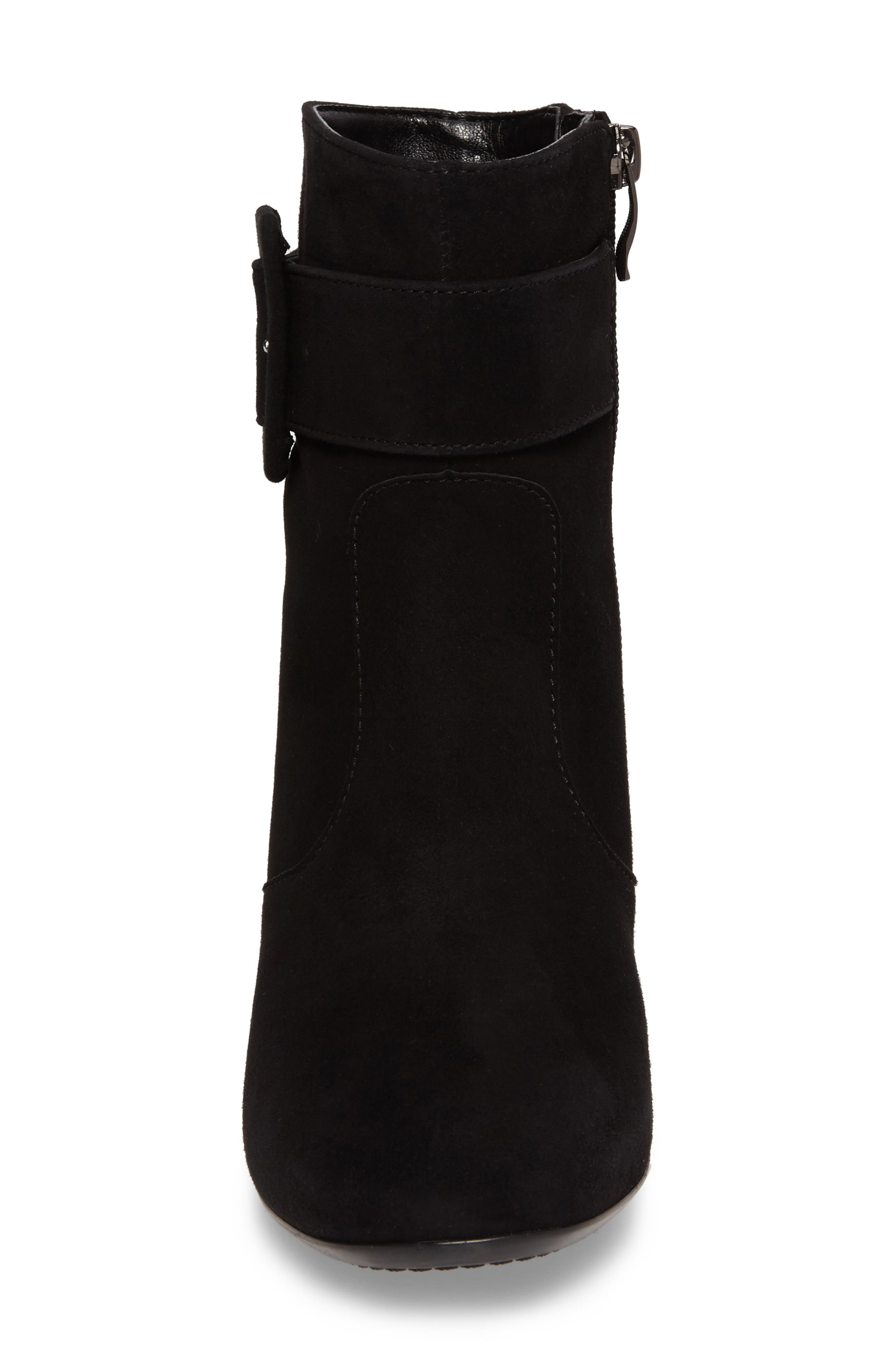 Charlize Boot,                             Alternate thumbnail 4, color,                             BLACK SUEDE