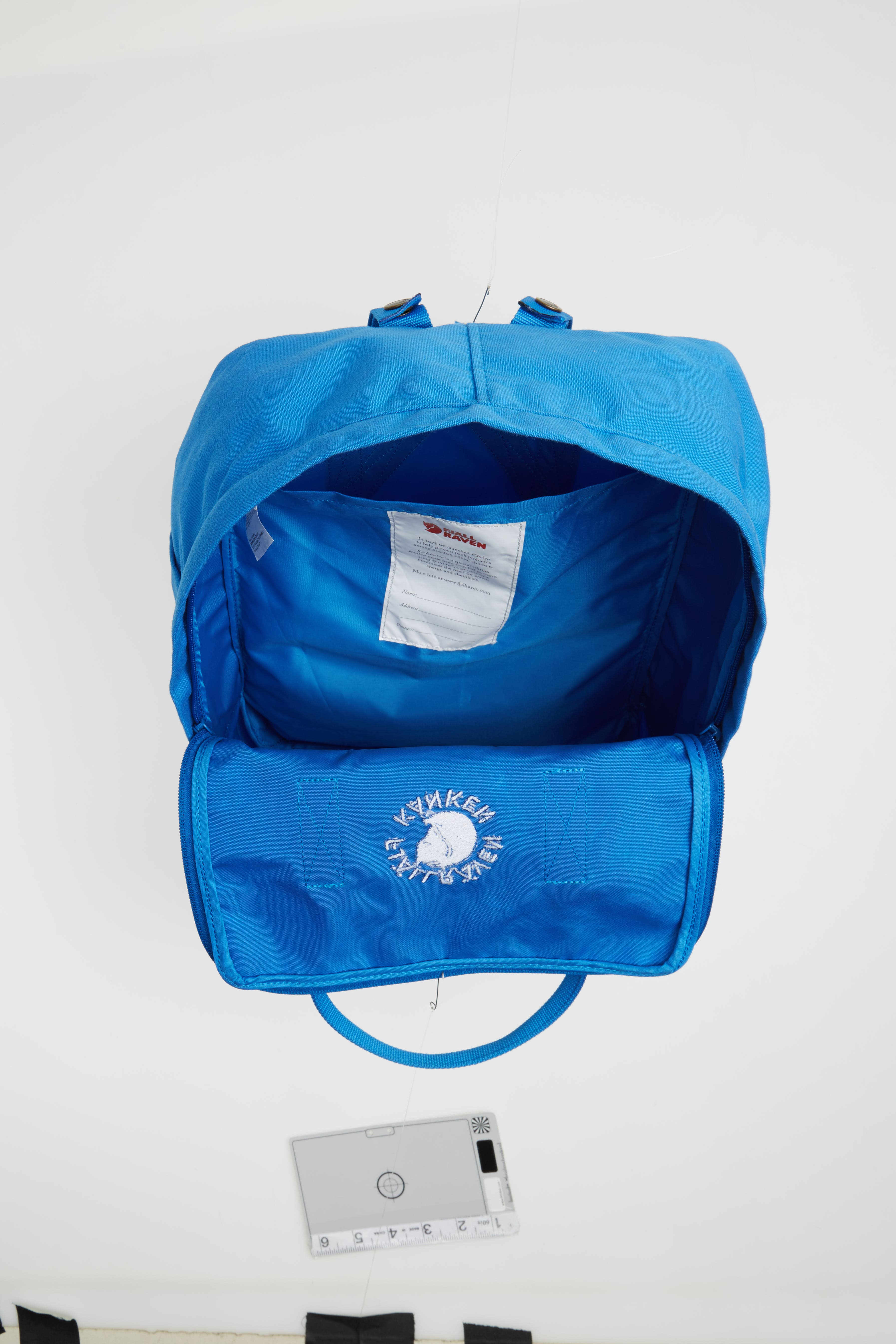 Re-Kånken Water Resistant Backpack,                             Alternate thumbnail 4, color,                             UN BLUE