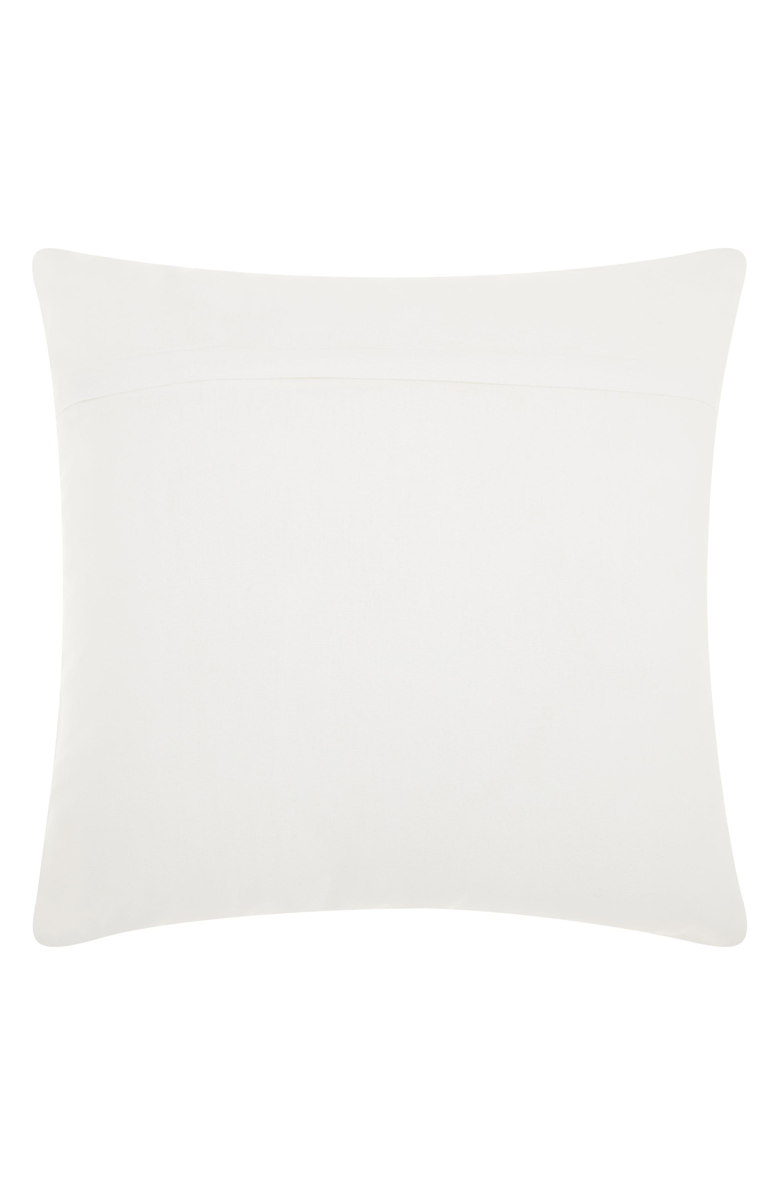 Sequin Bunny Ears Accent Pillow,                             Alternate thumbnail 2, color,                             WHITE