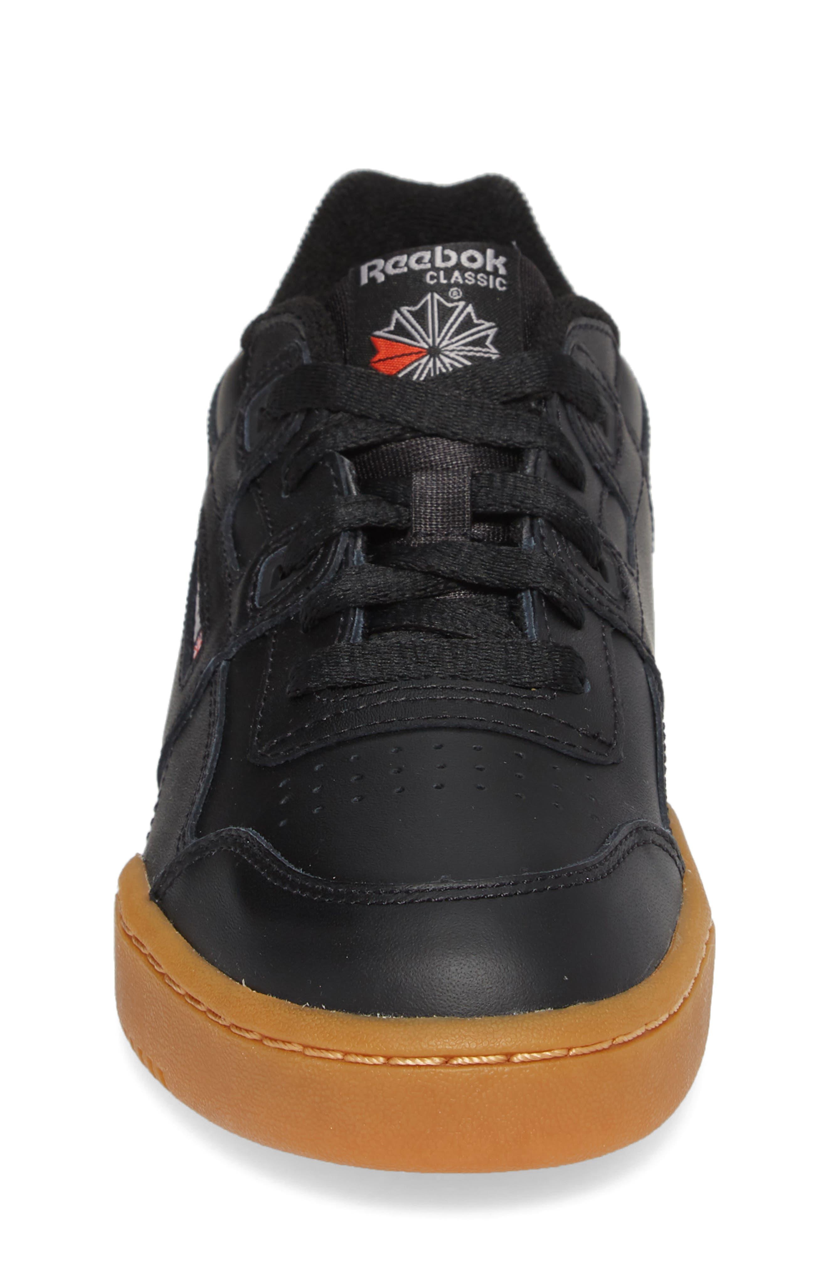 Workout Plus Sneaker,                             Alternate thumbnail 4, color,                             BLACK