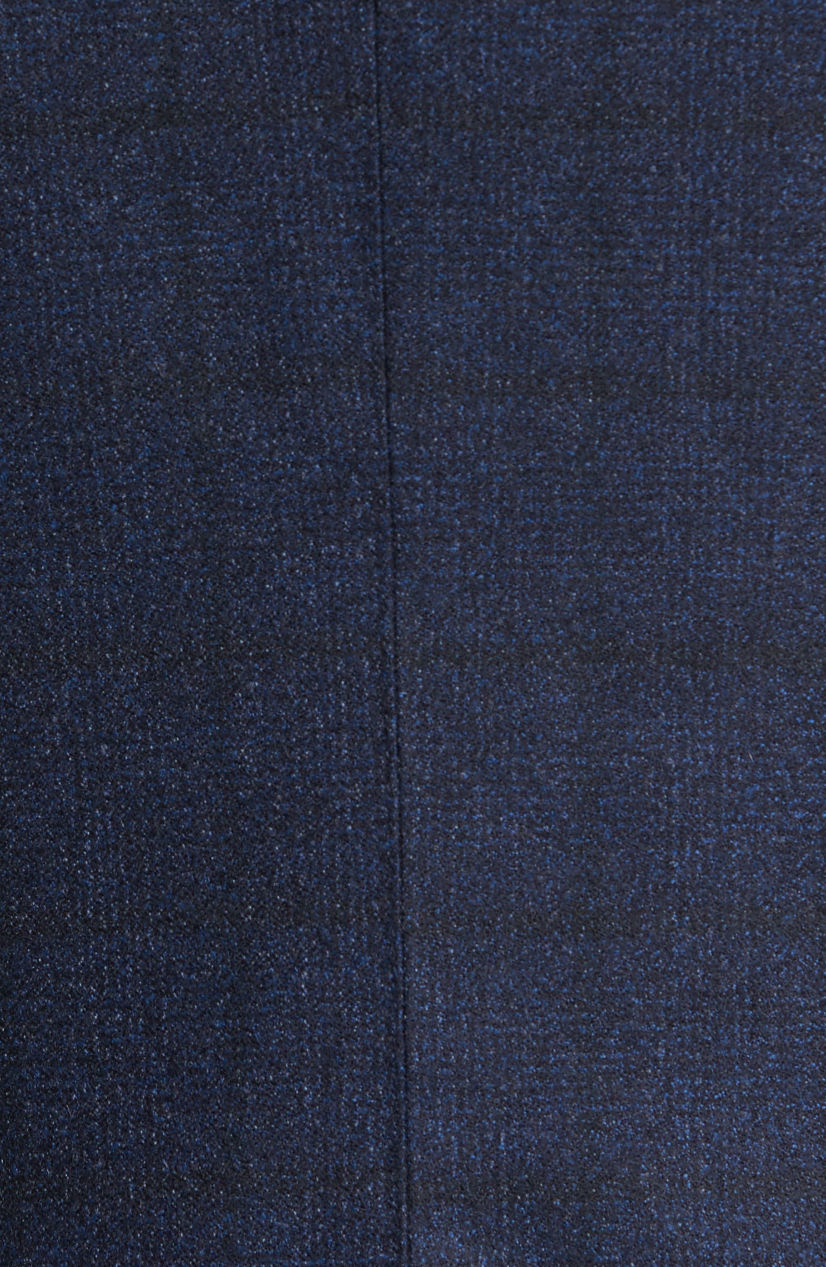 Andersen Trim Fit Plaid Wool Sport Coat,                             Alternate thumbnail 6, color,                             209