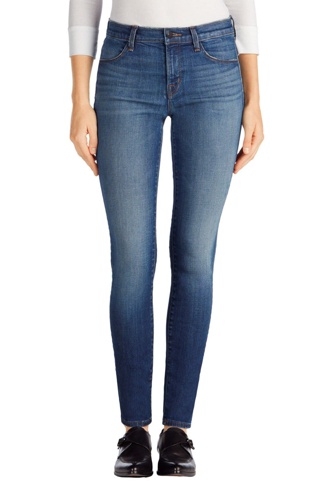 620 Mid Rise Super Skinny Jeans,                             Main thumbnail 4, color,