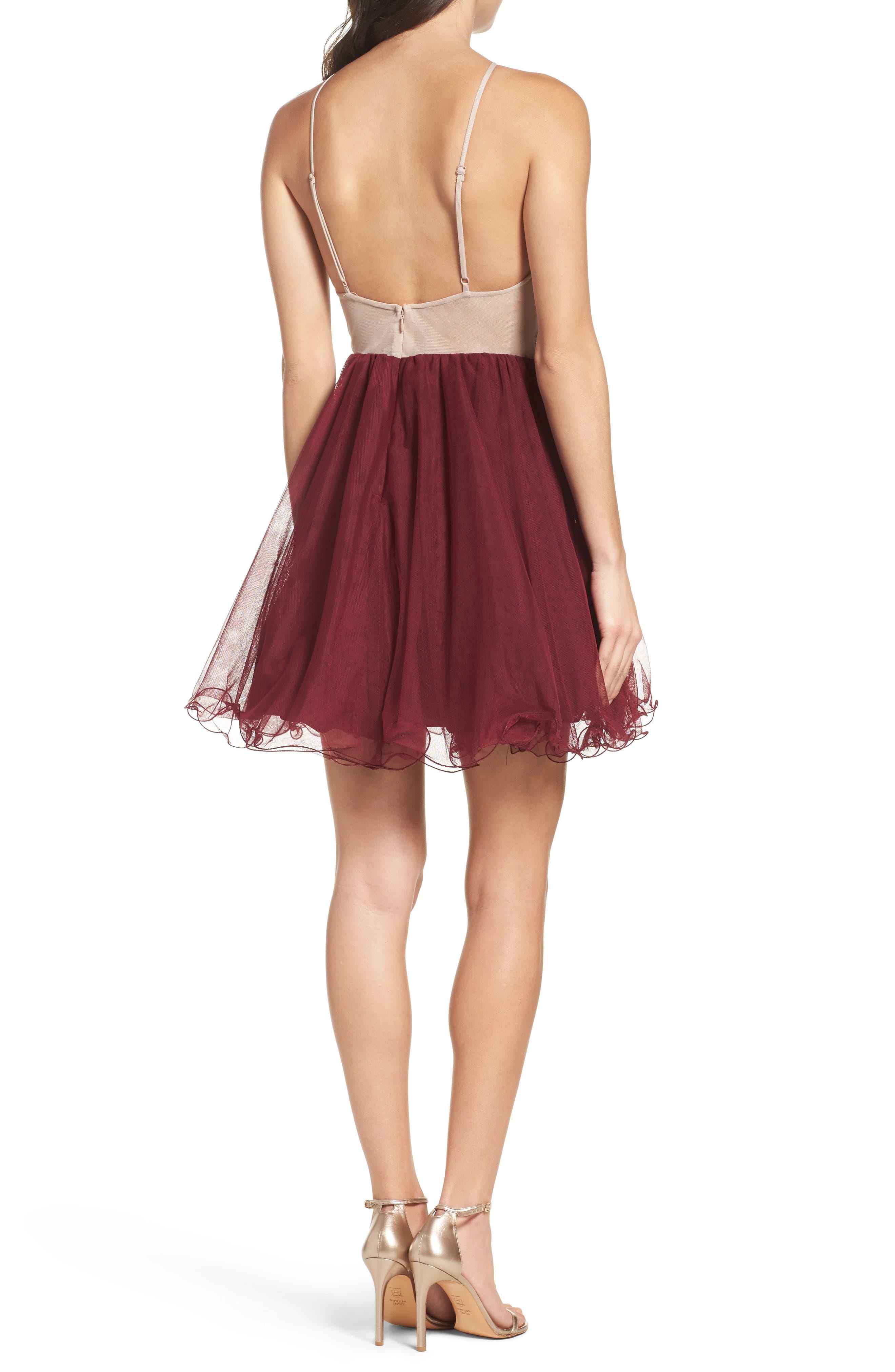 Fit & Flare Dress,                             Alternate thumbnail 2, color,                             649