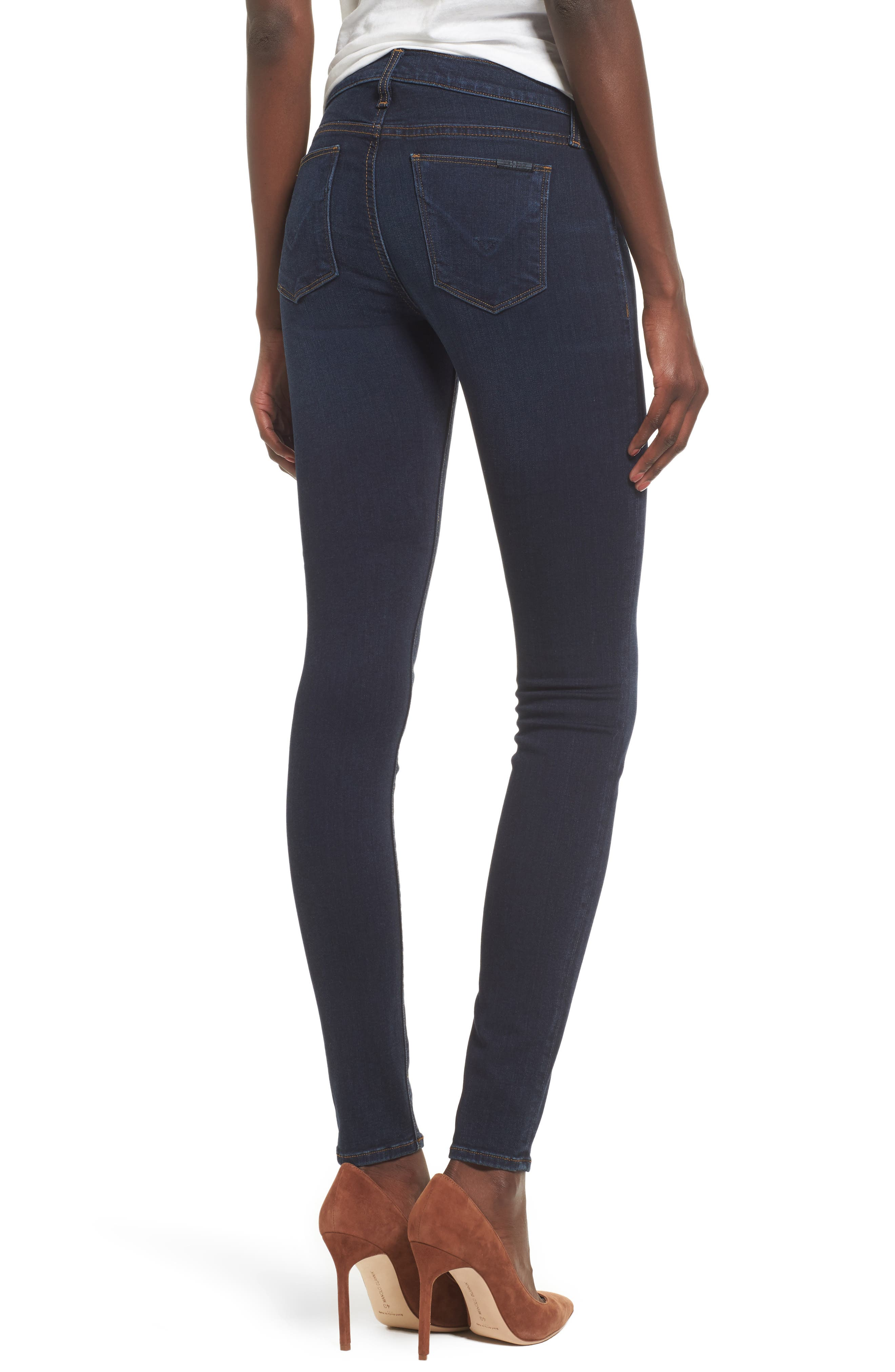 'Krista' Super Skinny Jeans,                             Alternate thumbnail 6, color,