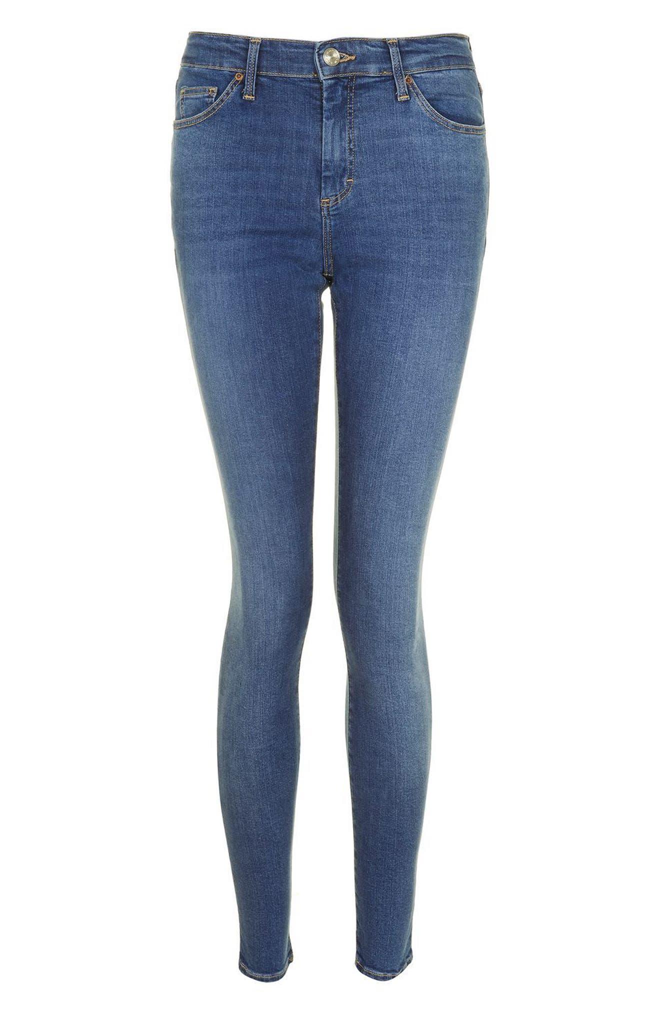 Sidney Skinny Ankle Jeans,                             Alternate thumbnail 3, color,                             400