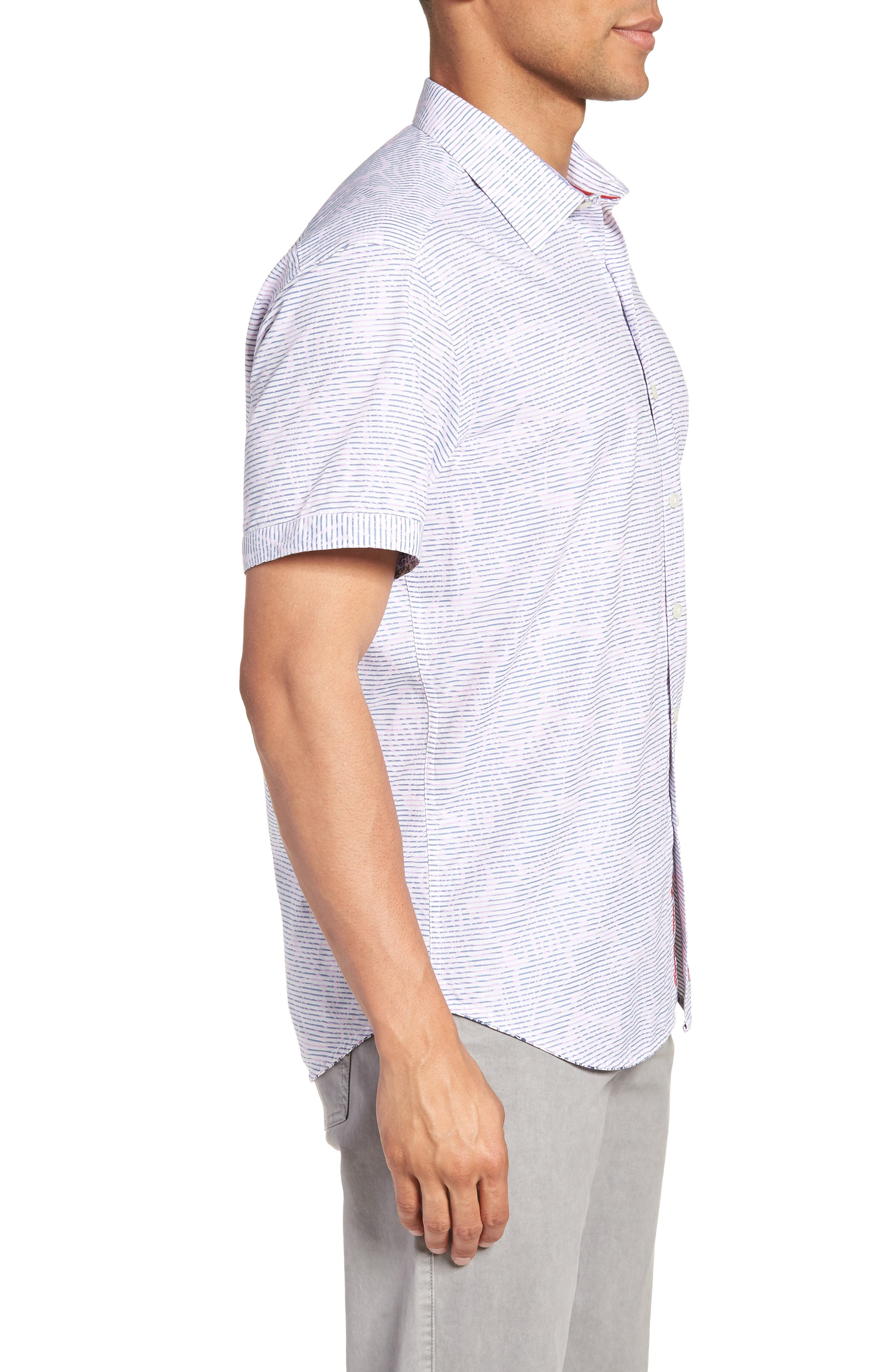 El Carmelo Classic Fit Sport Shirt,                             Alternate thumbnail 3, color,                             652