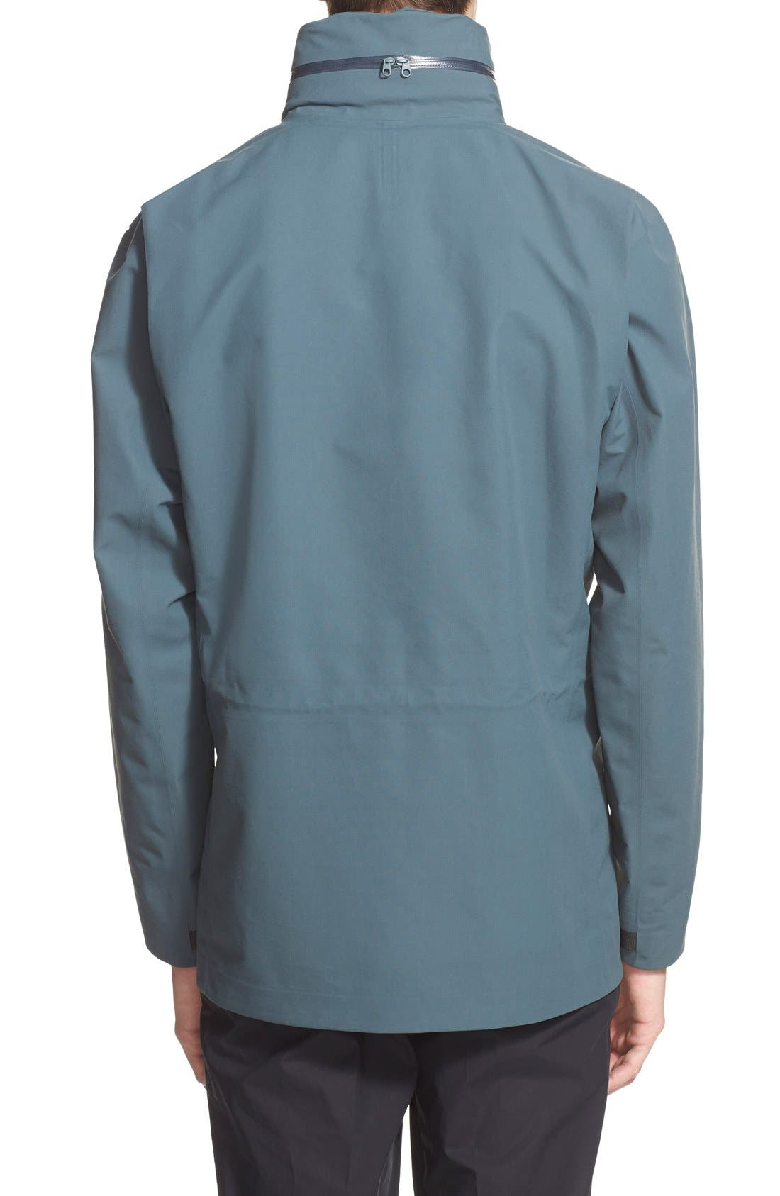 ARC'TERYX VEILANCE,                             Waterproof Field Jacket,                             Alternate thumbnail 2, color,                             400