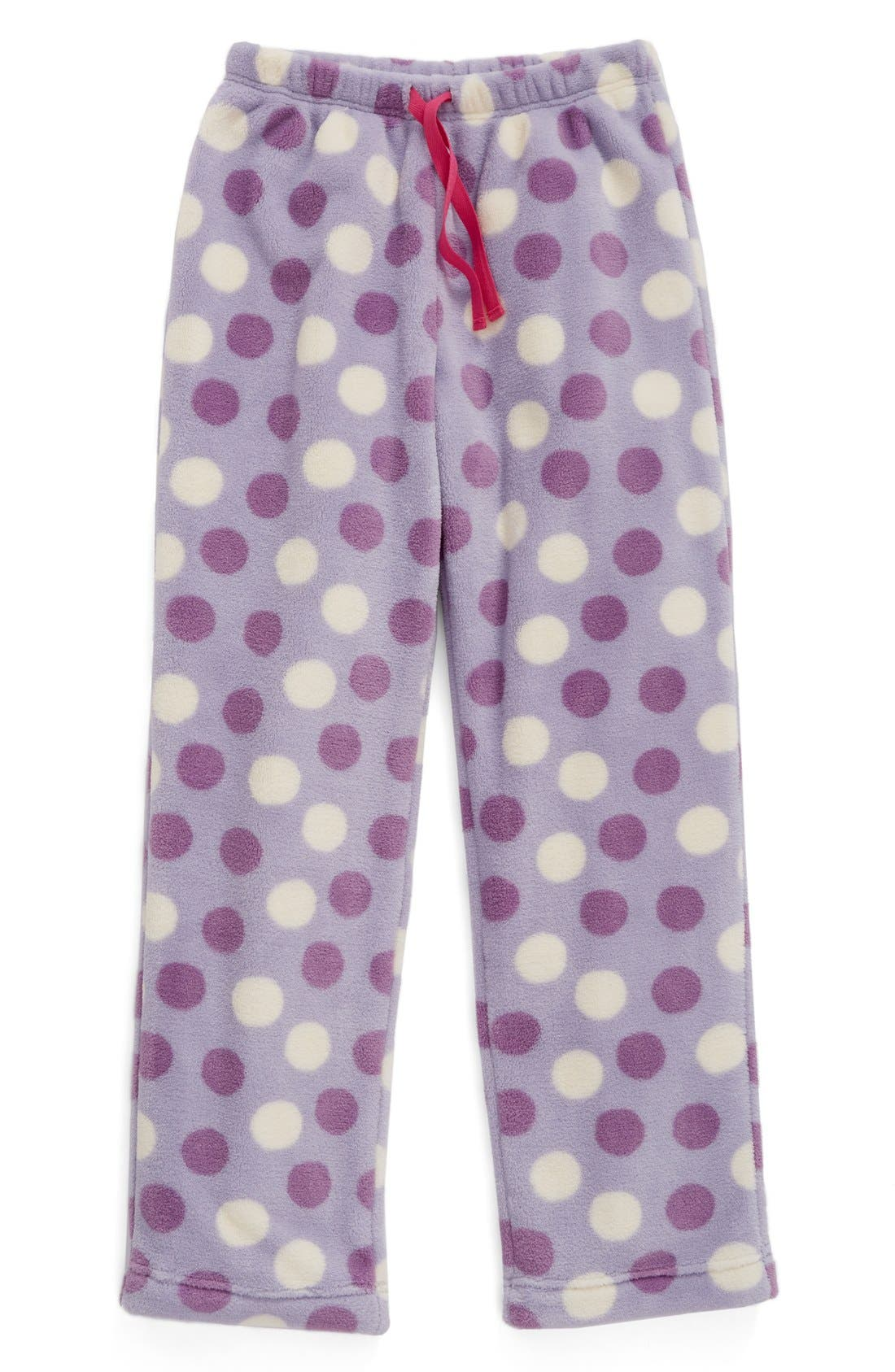 Fleece Pajama Pants,                             Main thumbnail 8, color,