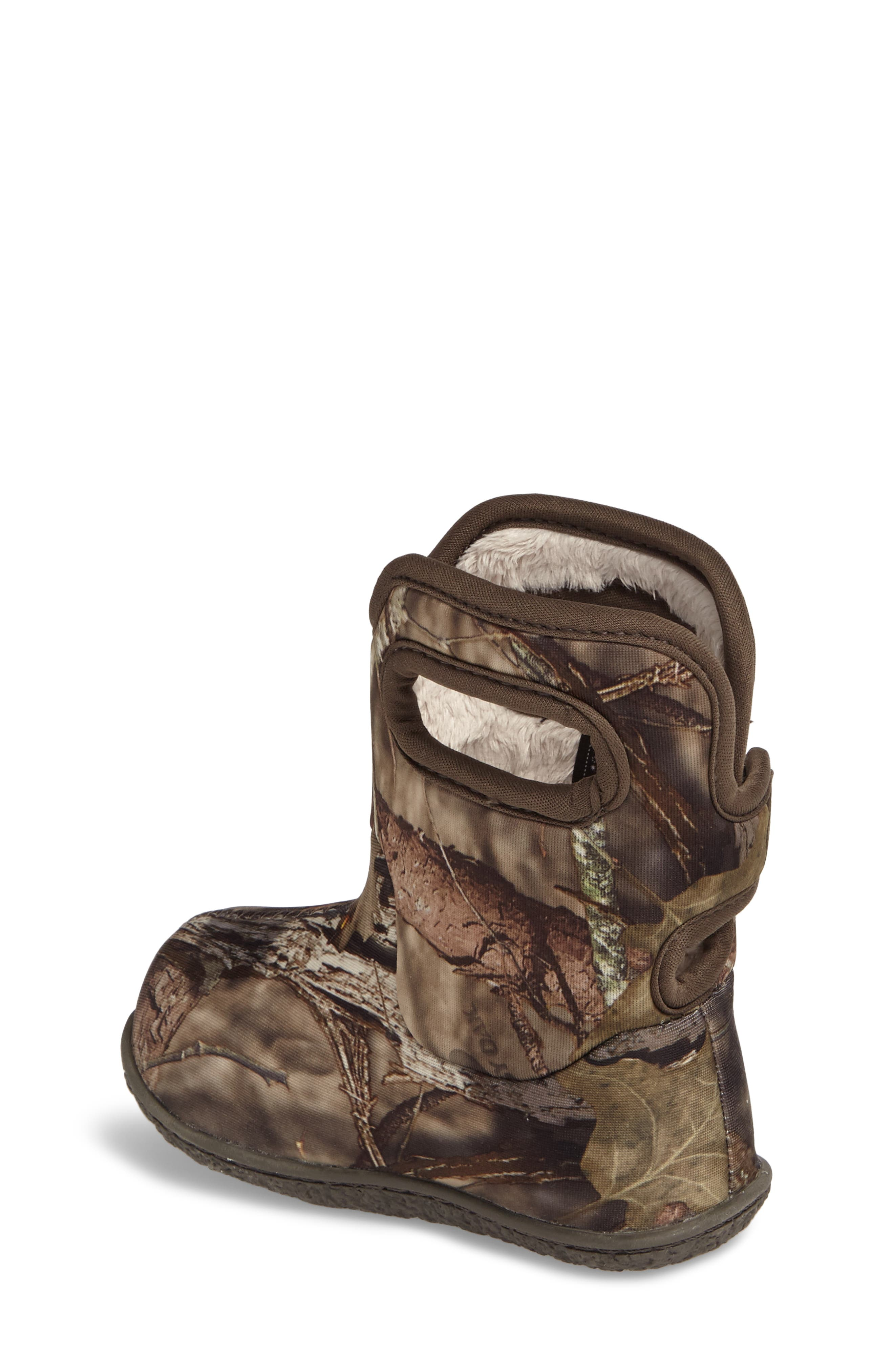 Baby Bogs Classic Camo Insulated Waterproof Boot,                             Alternate thumbnail 2, color,                             MOSSY OAK COUNTRY