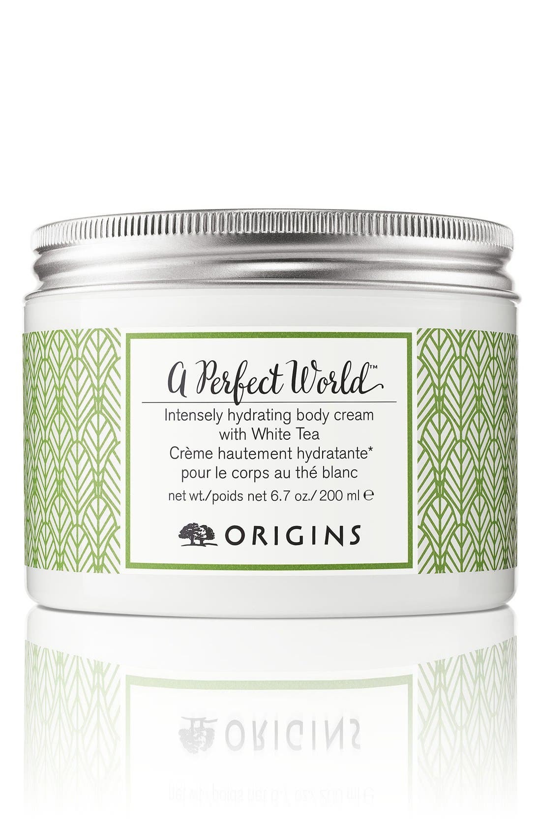 A Perfect World<sup>™</sup> Intensely Hydrating Body Cream with White Tea,                         Main,                         color, NO COLOR