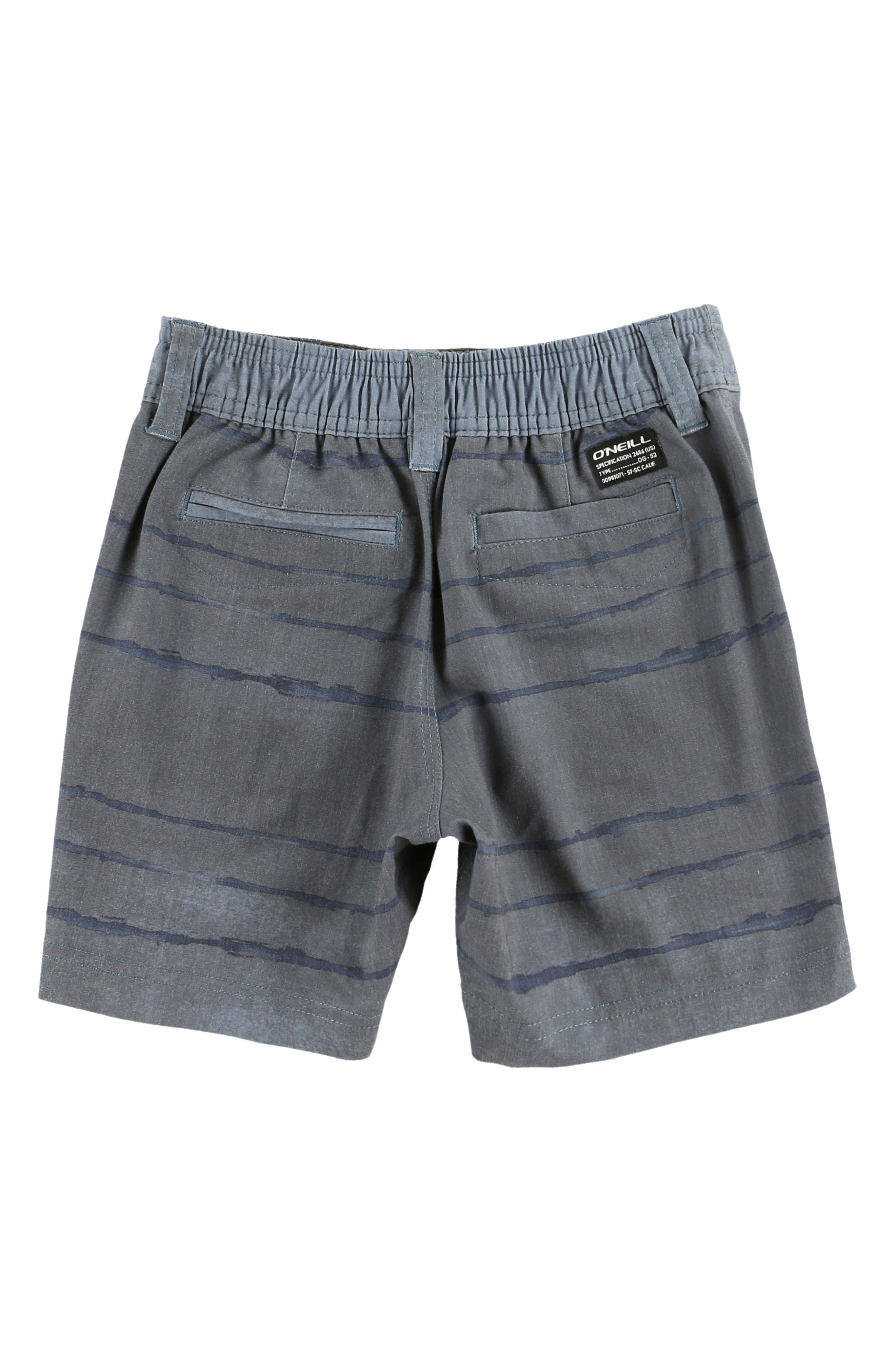 Tye Striper Hybrid Shorts,                             Alternate thumbnail 2, color,                             DUST BLUE