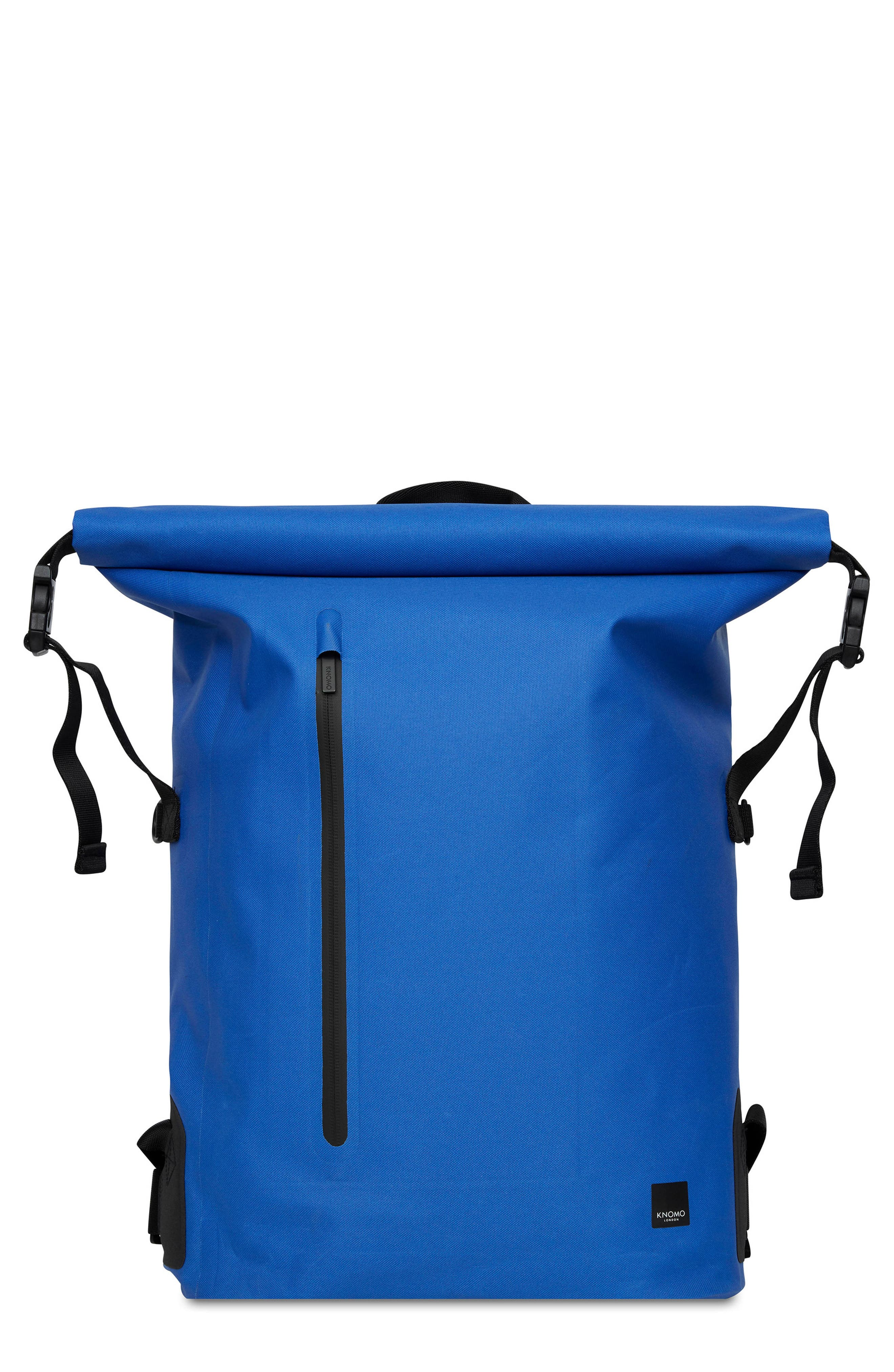 Knomo London Thames Cromwell Roll Top Backpack - Blue