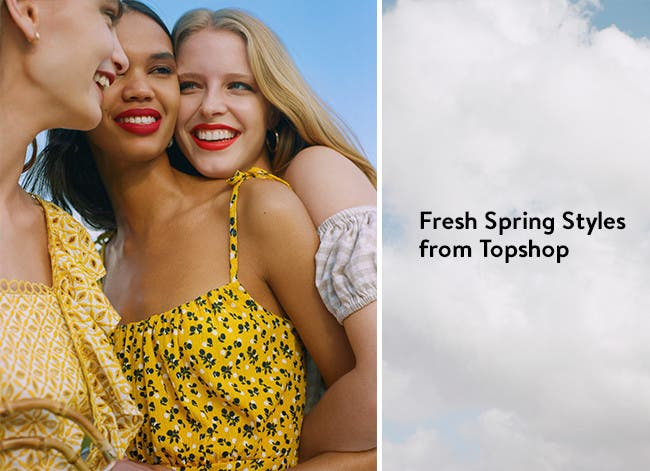 Fresh spring styles from Topshop: let's go.