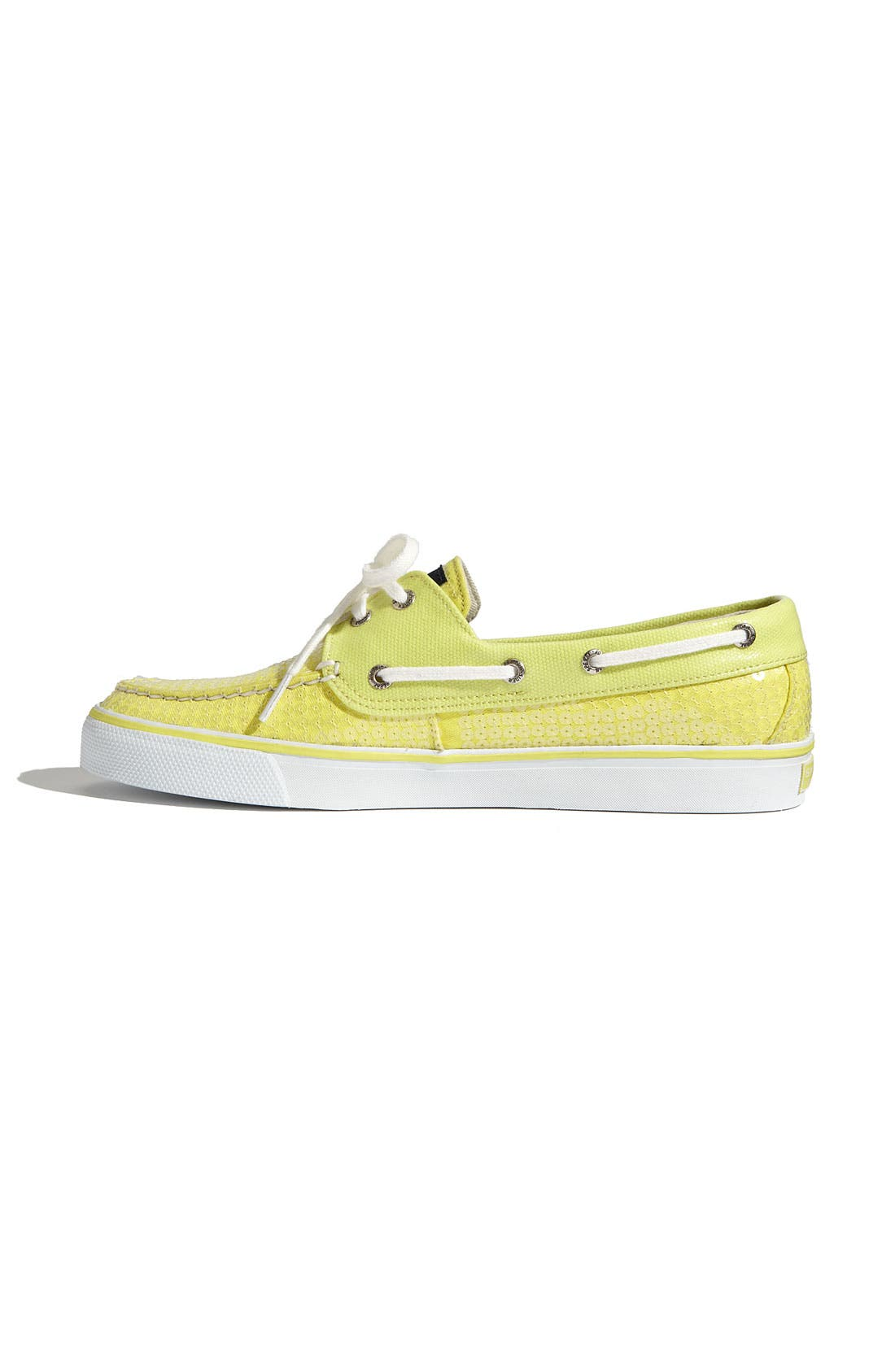 Top-Sider<sup>®</sup> 'Bahama' Sequined Boat Shoe,                             Alternate thumbnail 125, color,